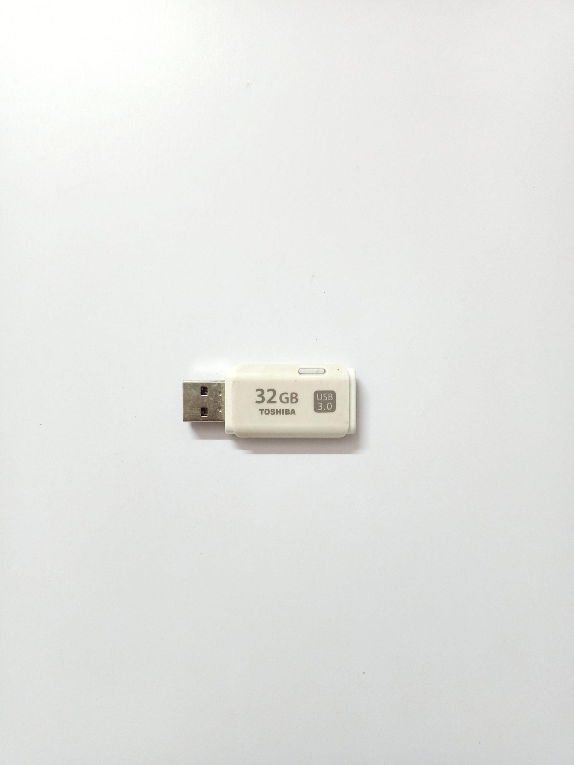A 32 GB pendrive