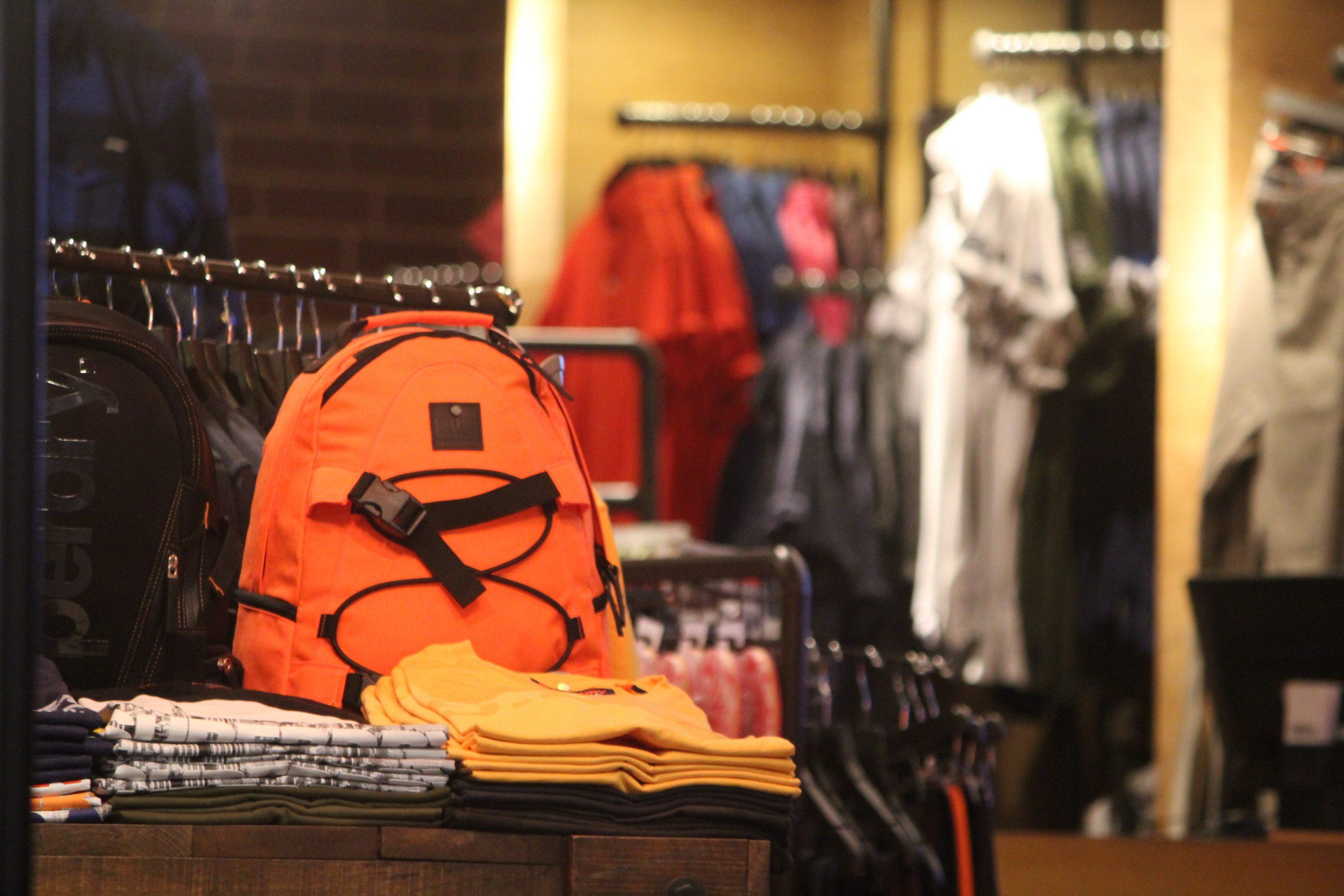 A bag at a shop