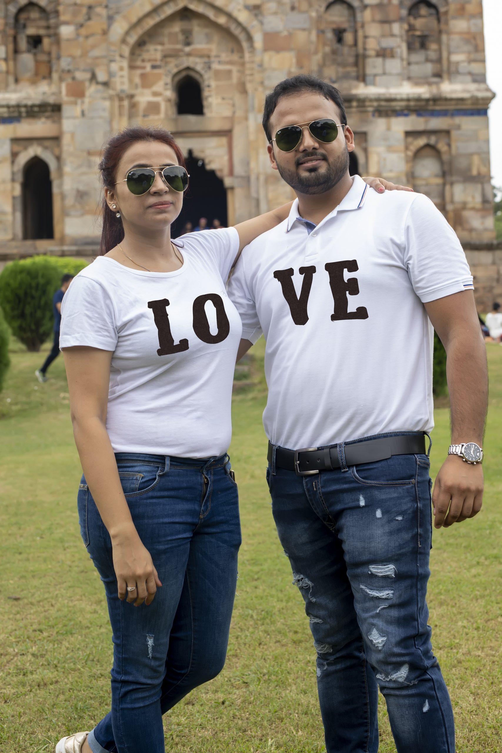 A couple's dress code