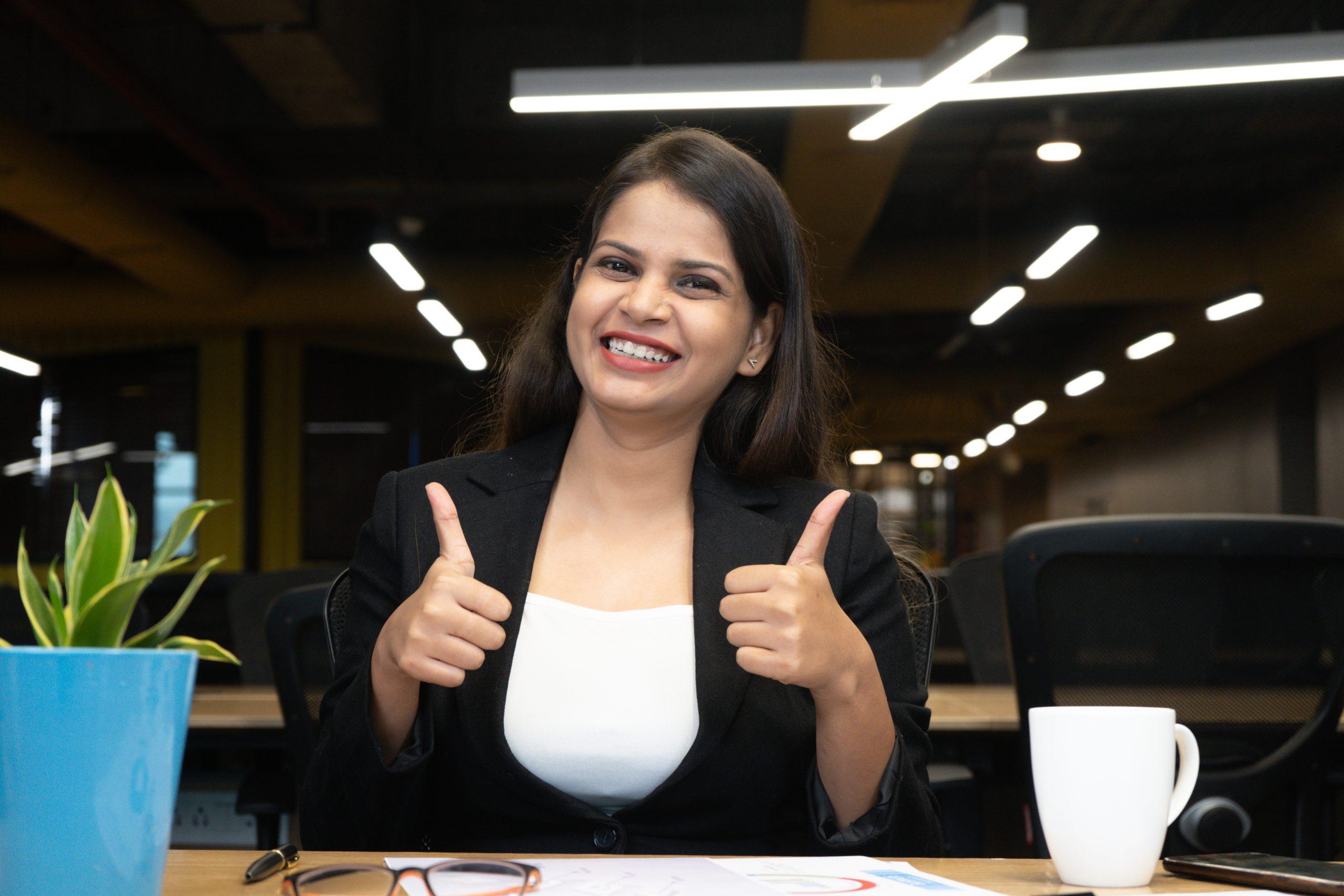 A happy employee
