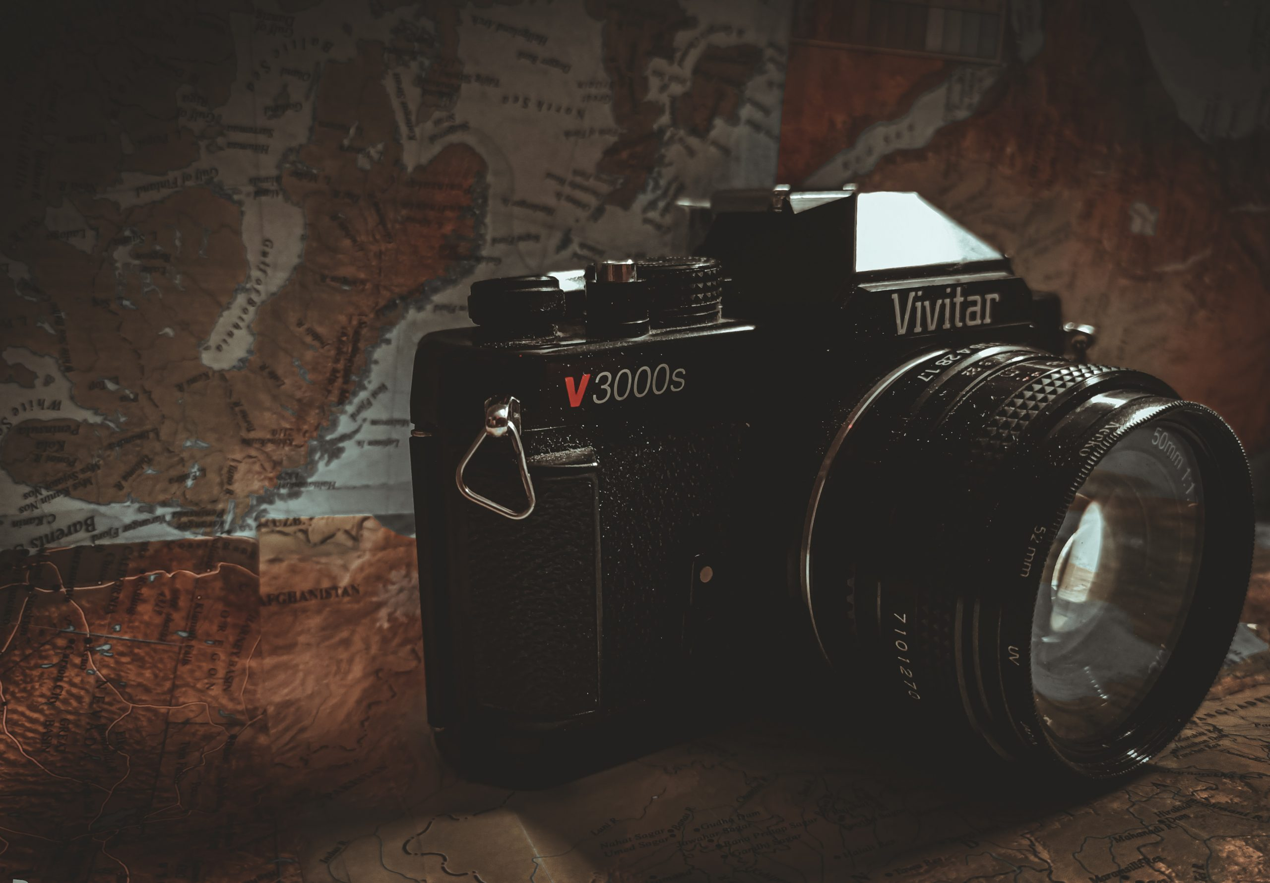 A photography camera