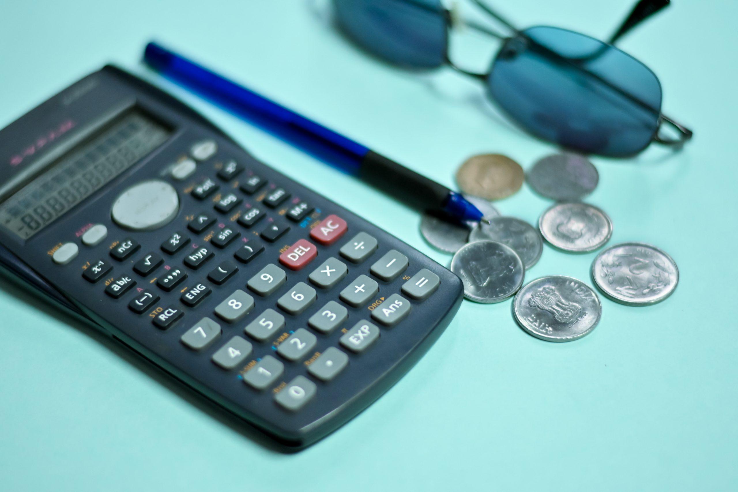 A scientific calculator for accounting