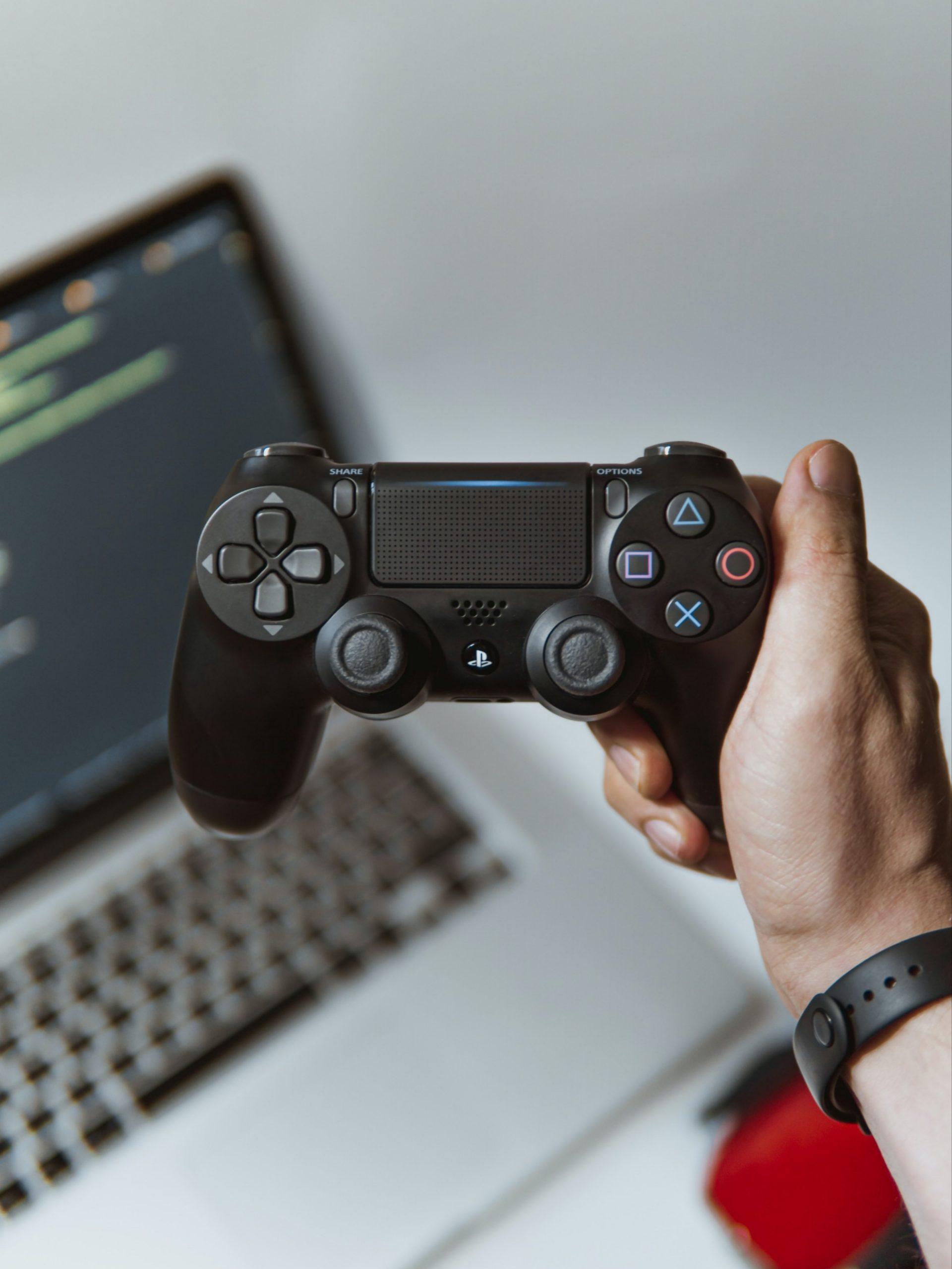 A video game controller