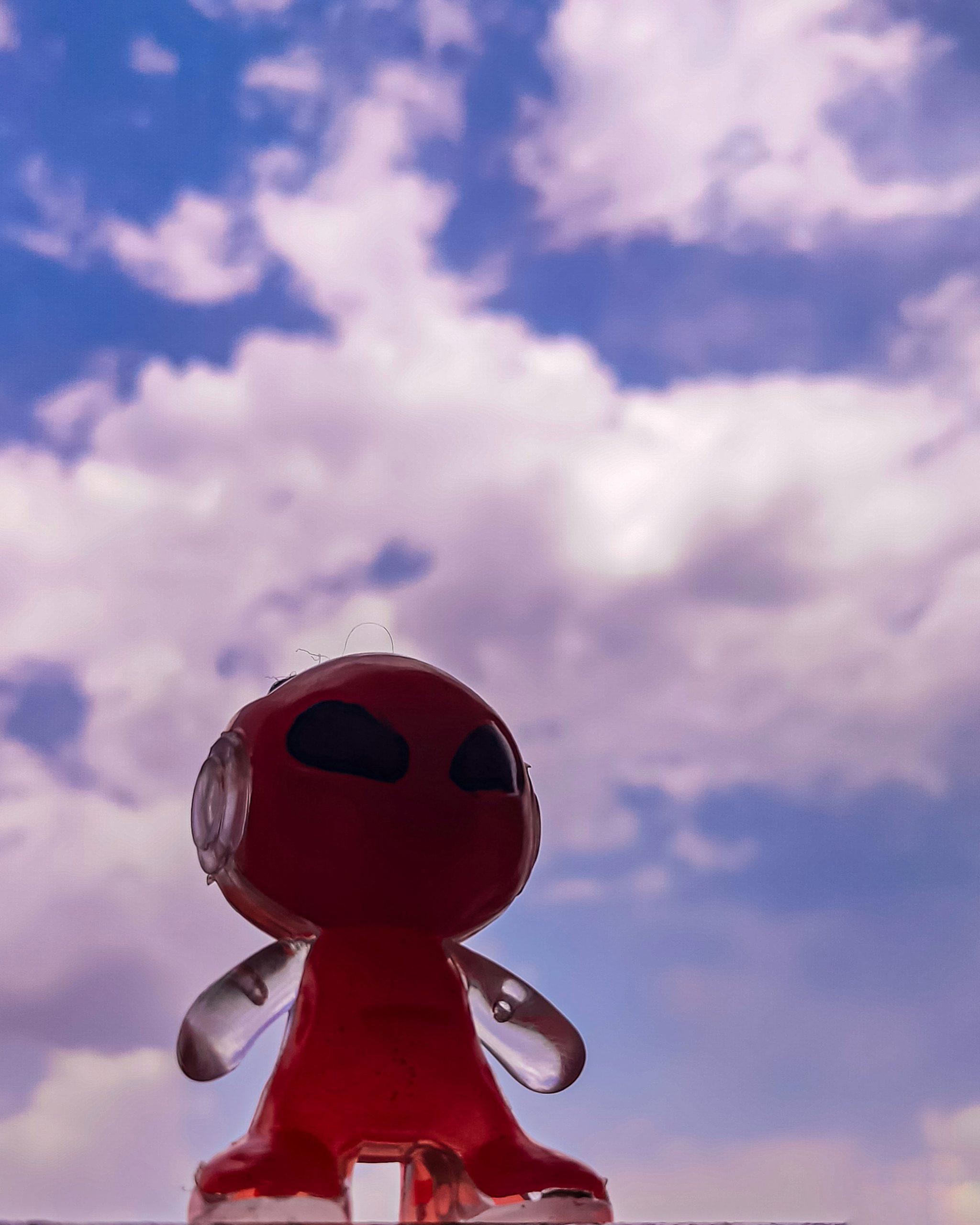 An alien toy