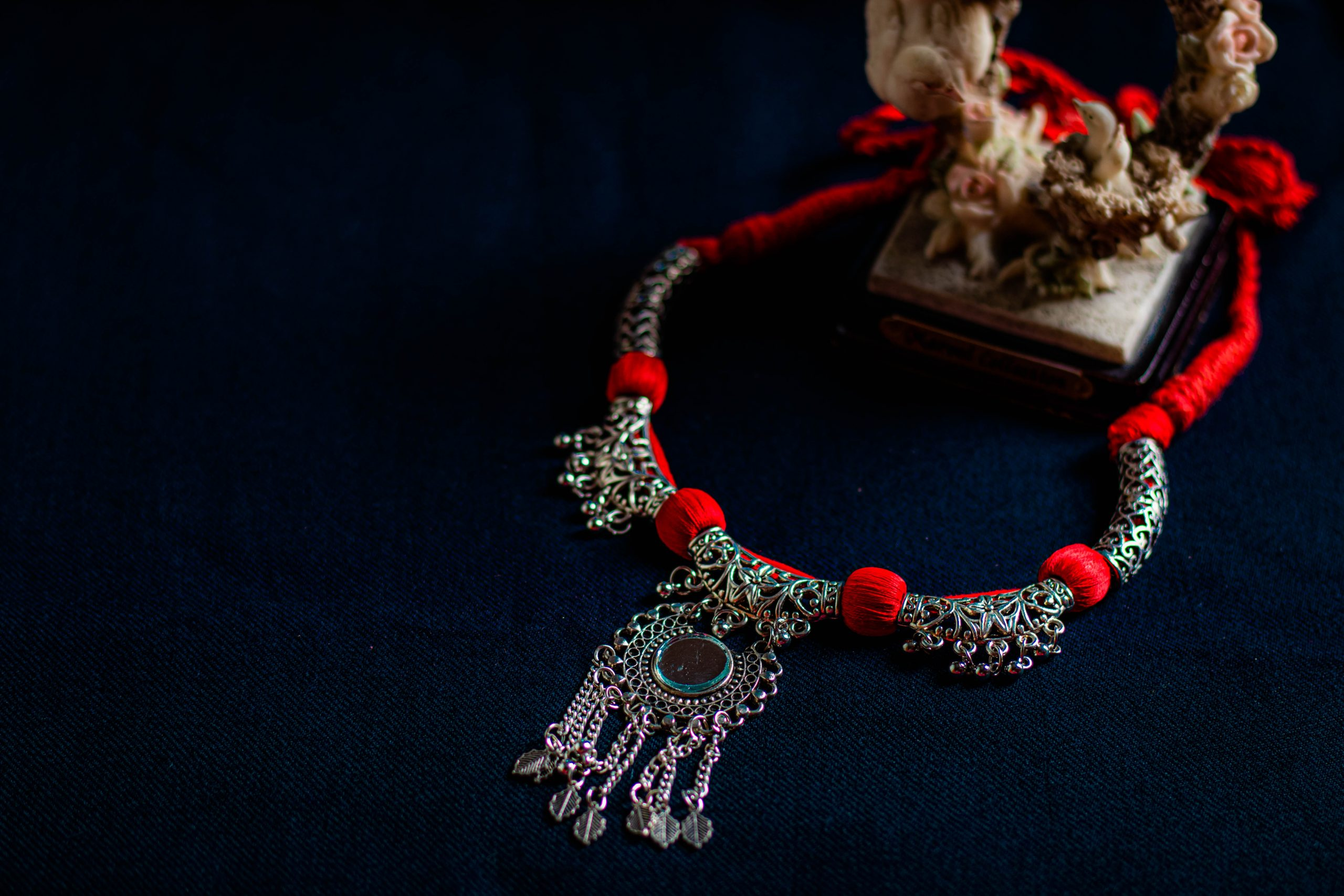 An antique necklace