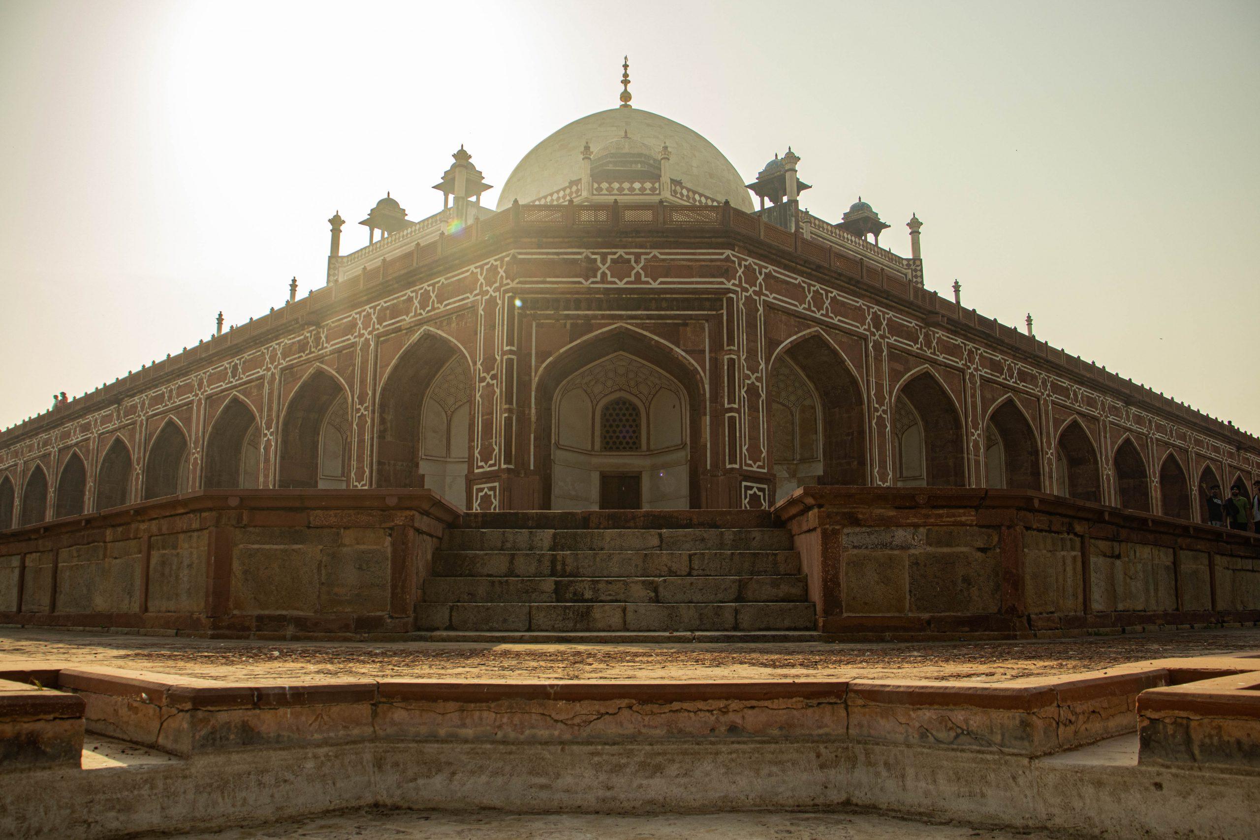 An historic building in Delhi