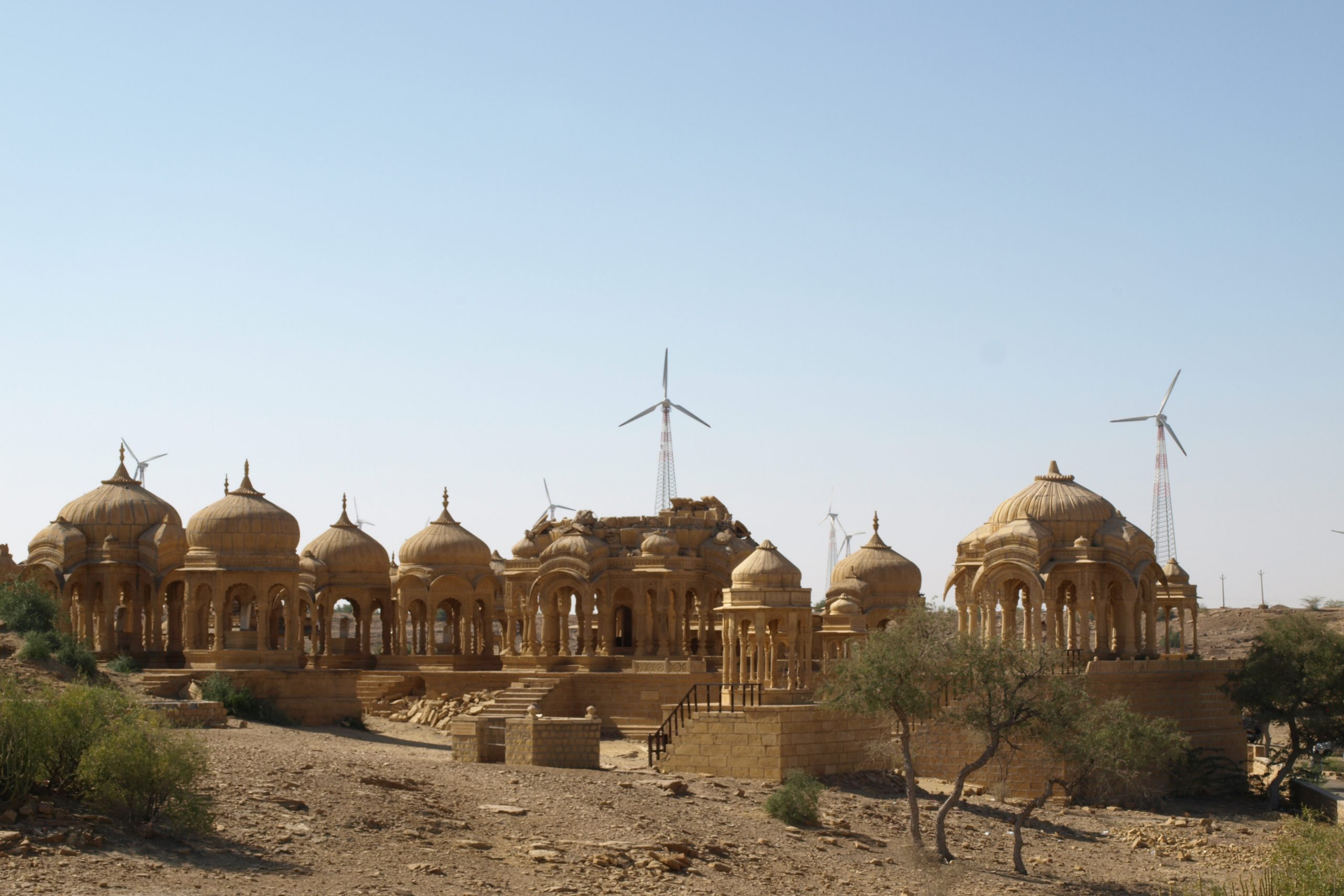 Ancient tombs in Jaisalmer