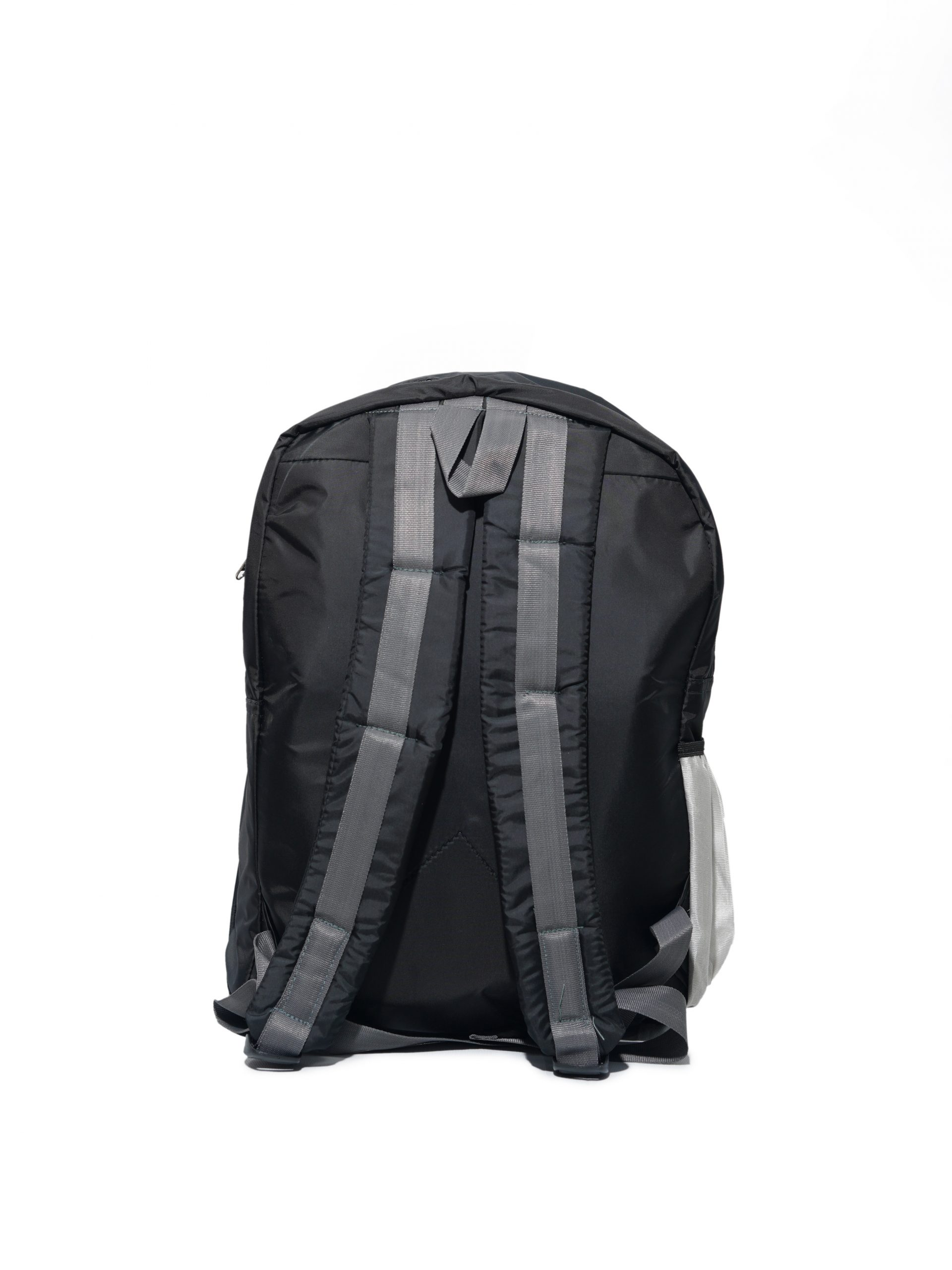 Back side of bag in white background