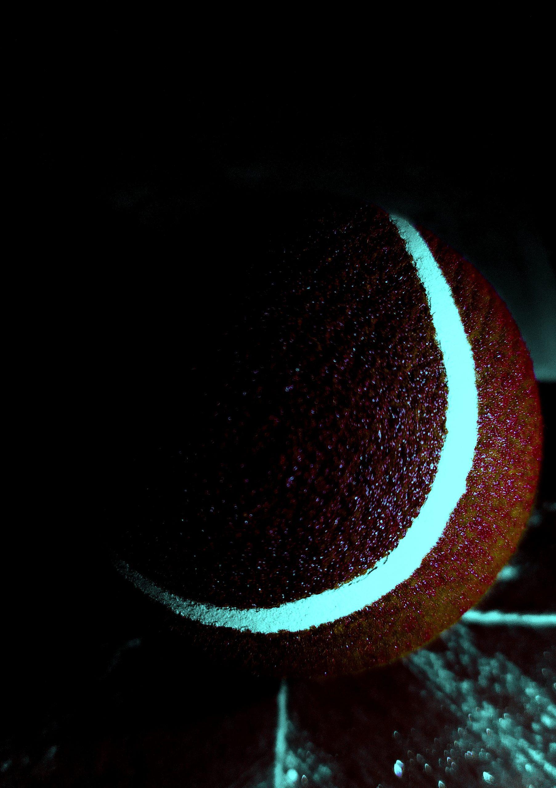 A cricket ball