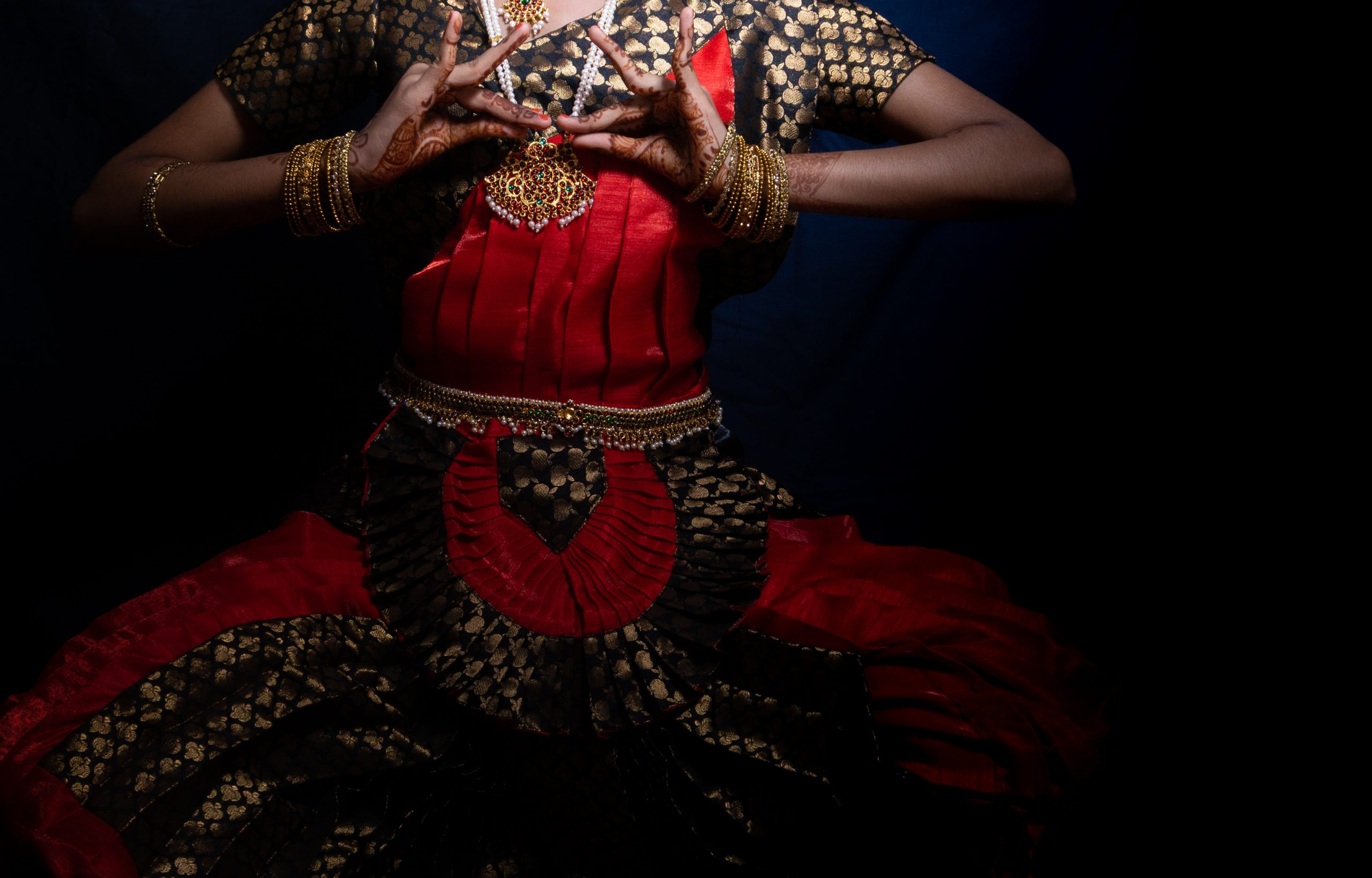 Bharatanatyam dance mudra