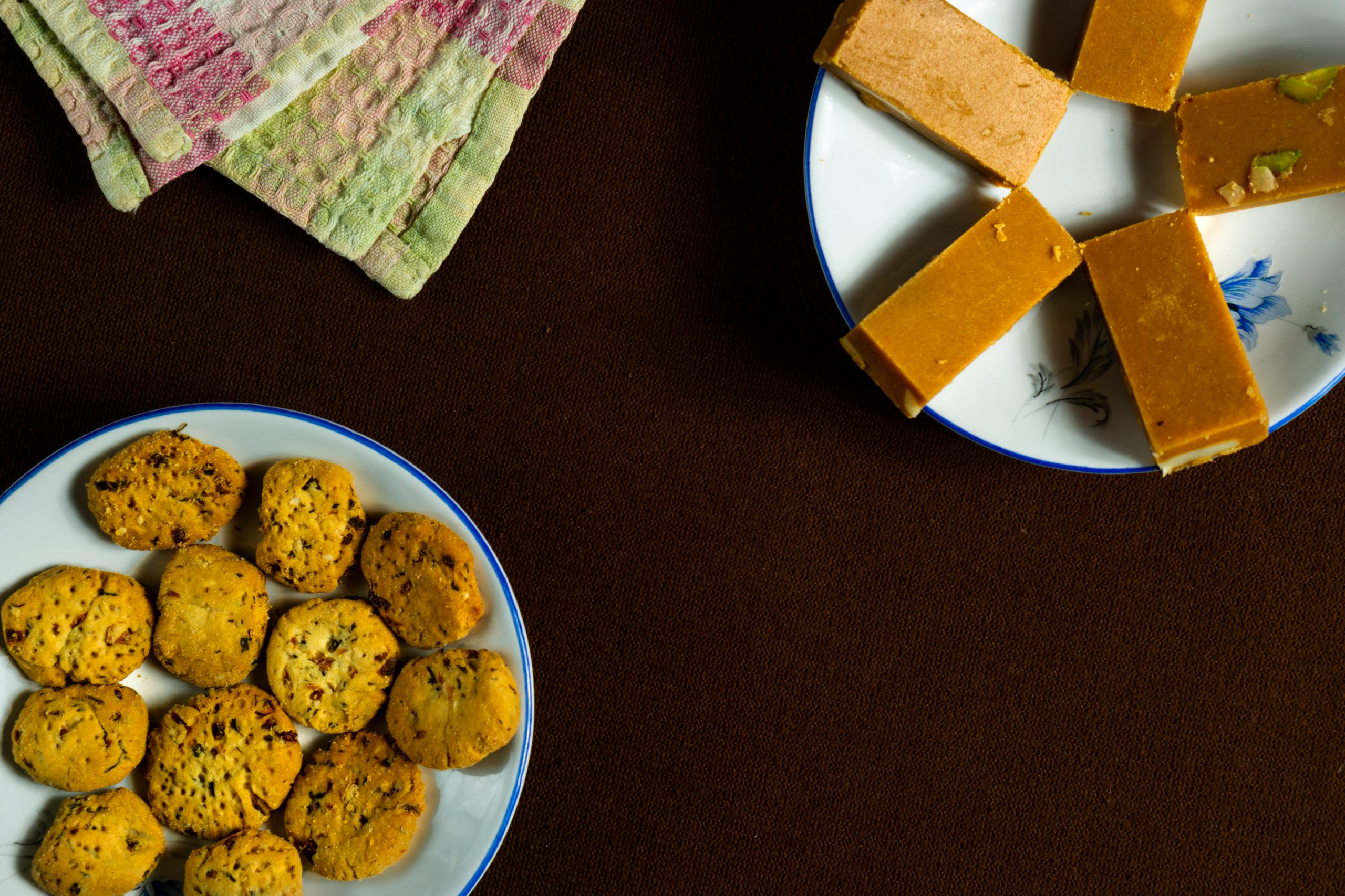 Biscuits and sweets