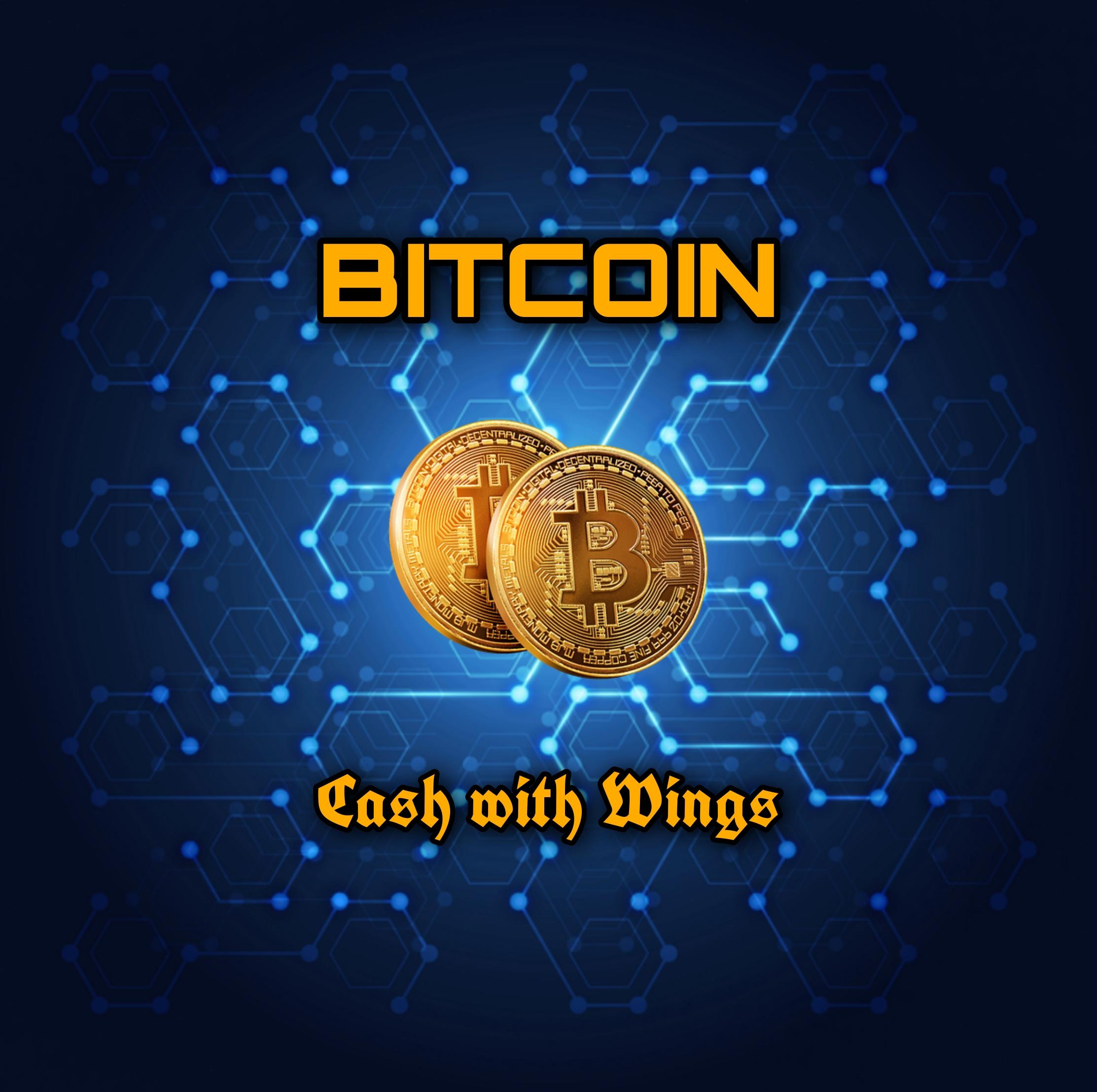Illustration of a bitcoin