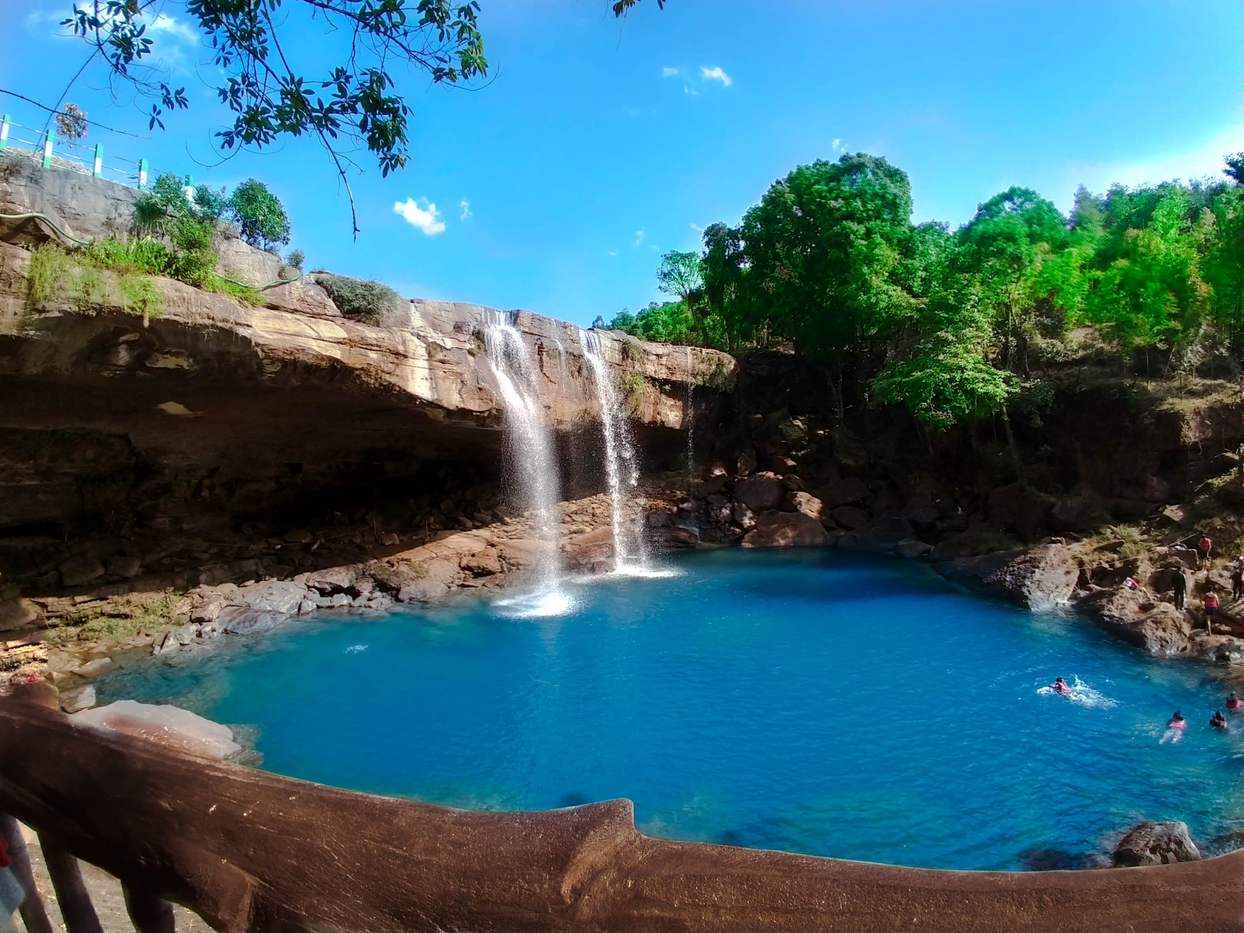 Absolutely beautiful Krangsuri Waterfall.
