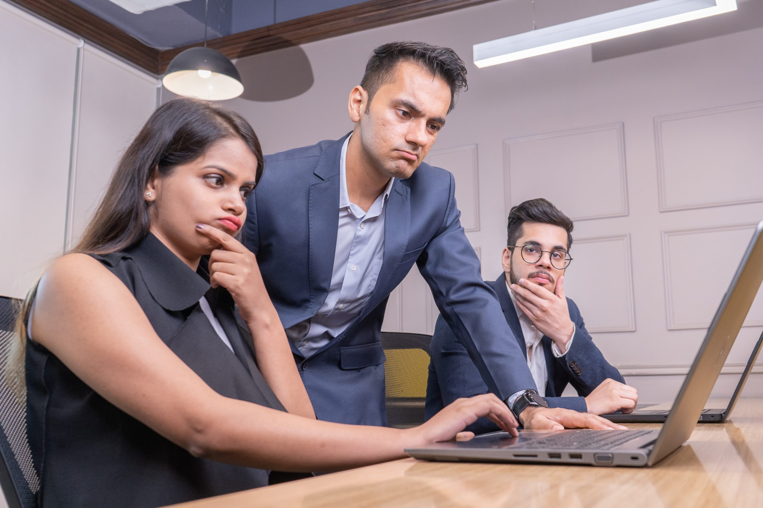 Boss unhappy with employees performance
