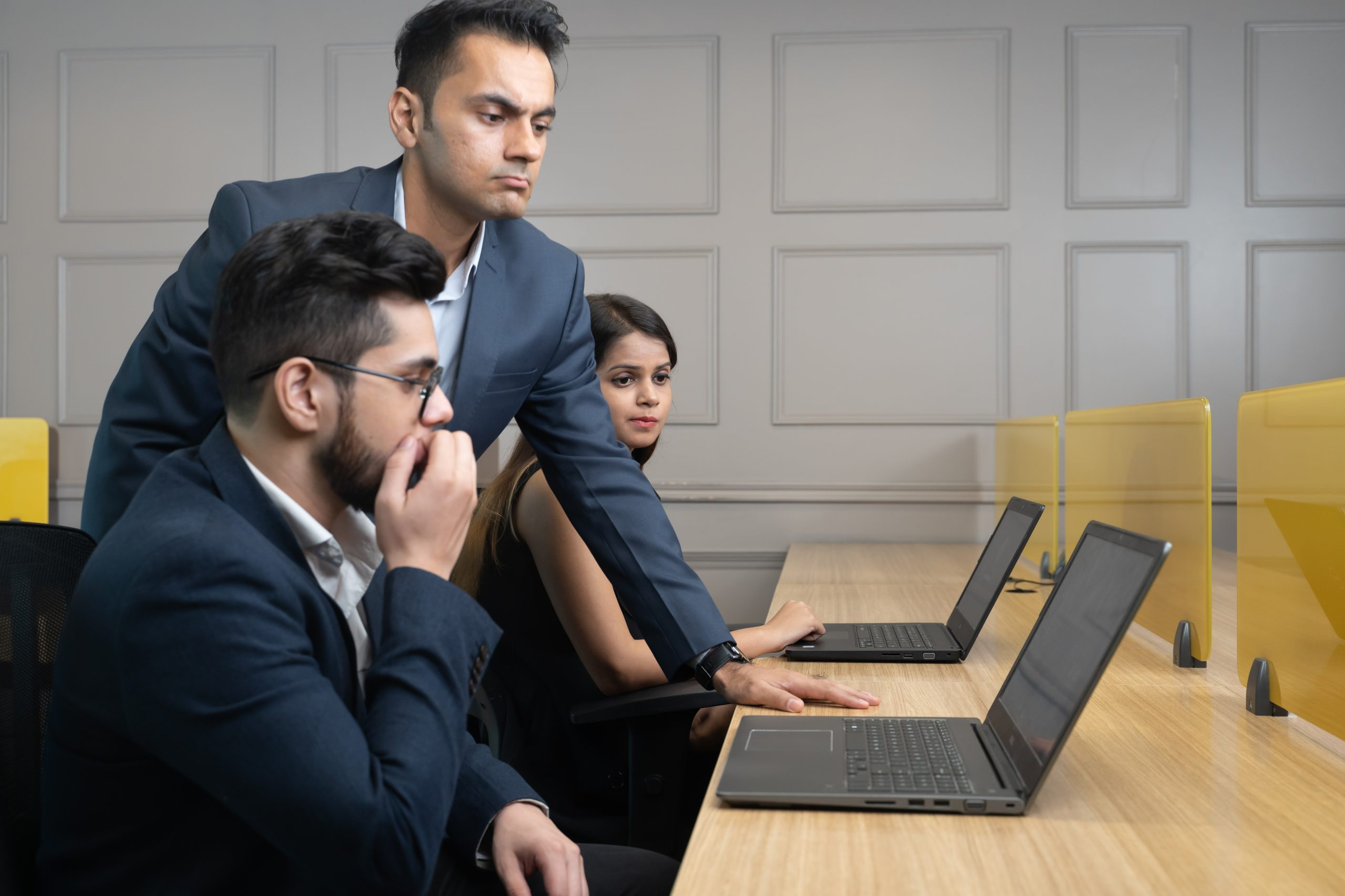 Boss unhappy with work