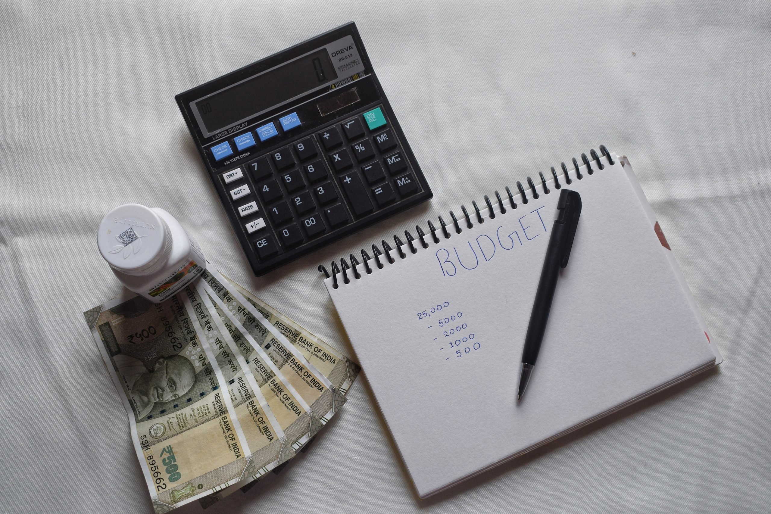 Budget, money and accounting