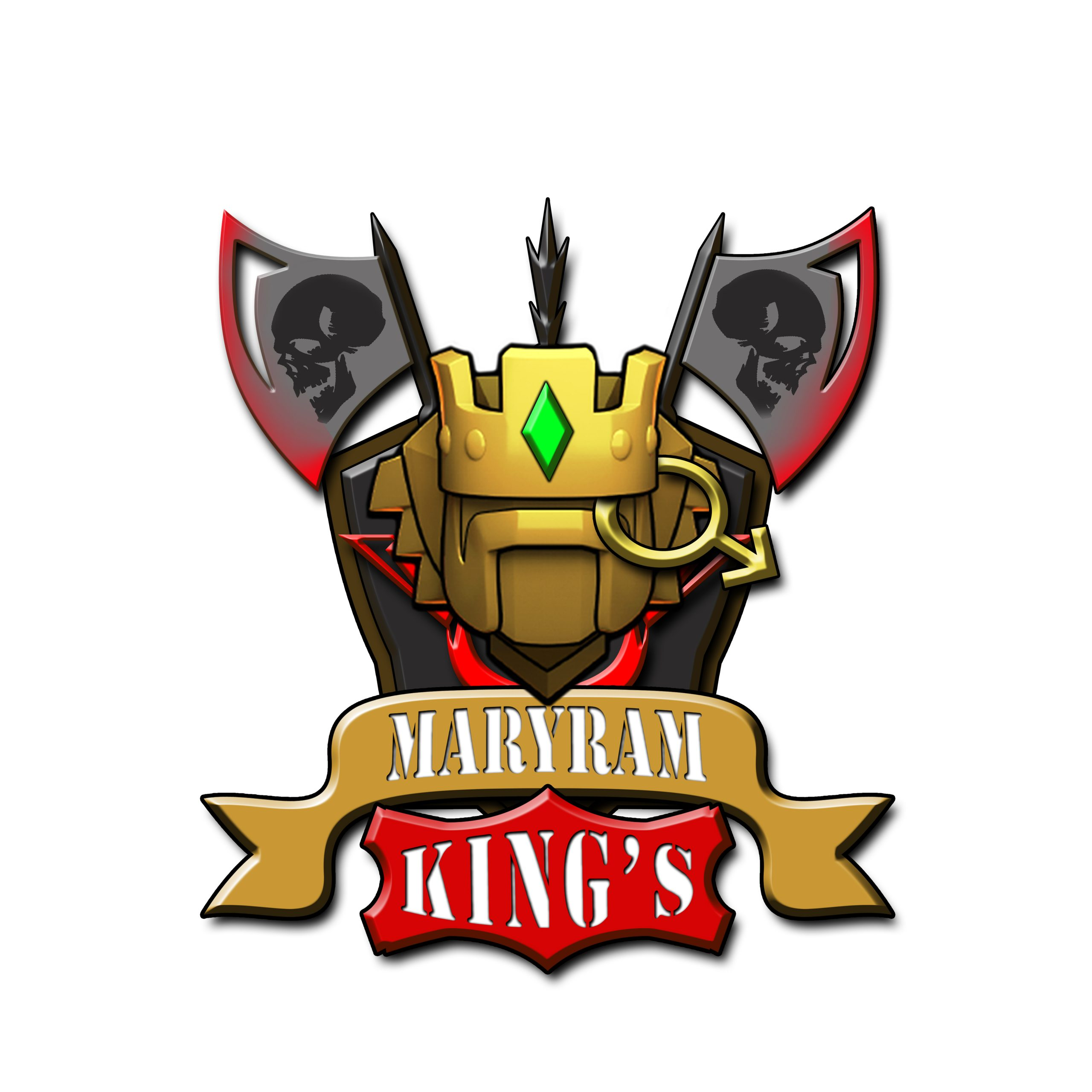 Clash of clan badge logo