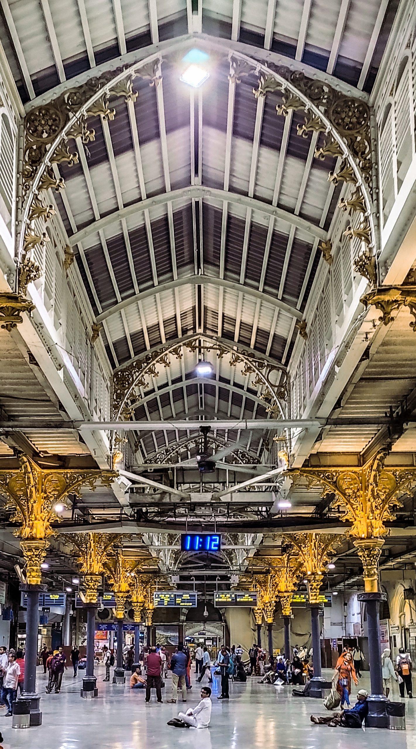 CST railway station Mumbai