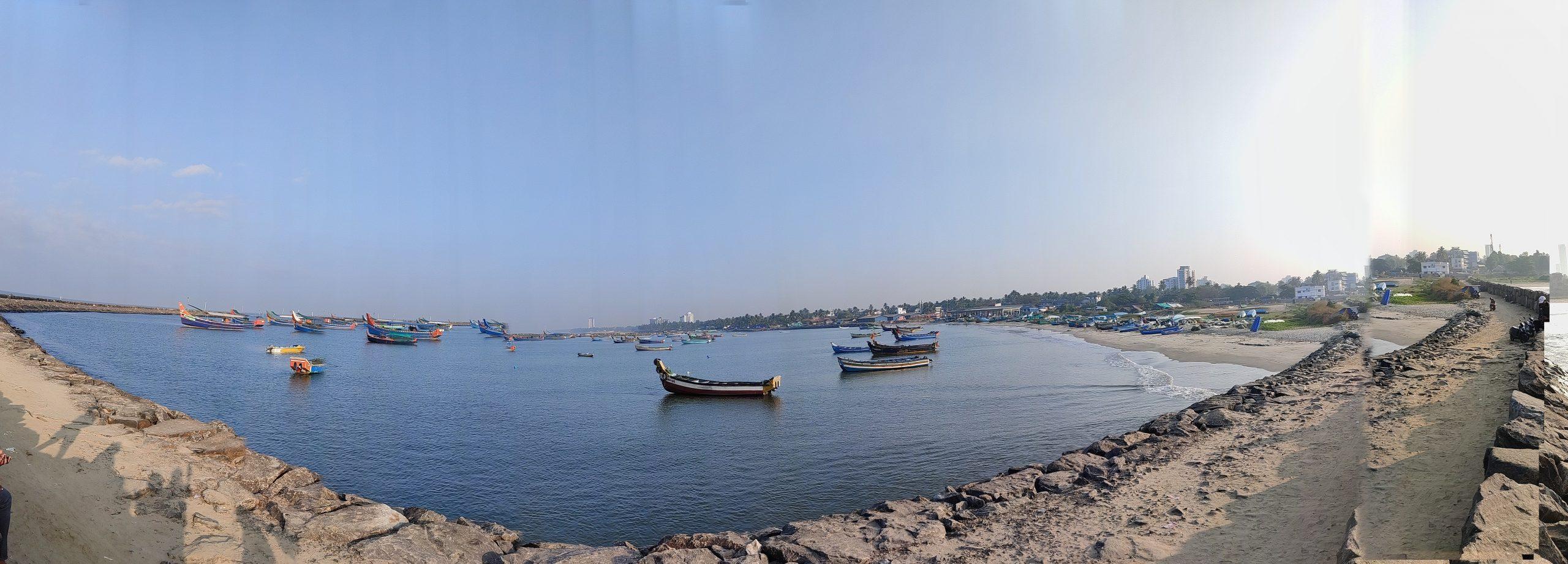 A beach in Calcutta.