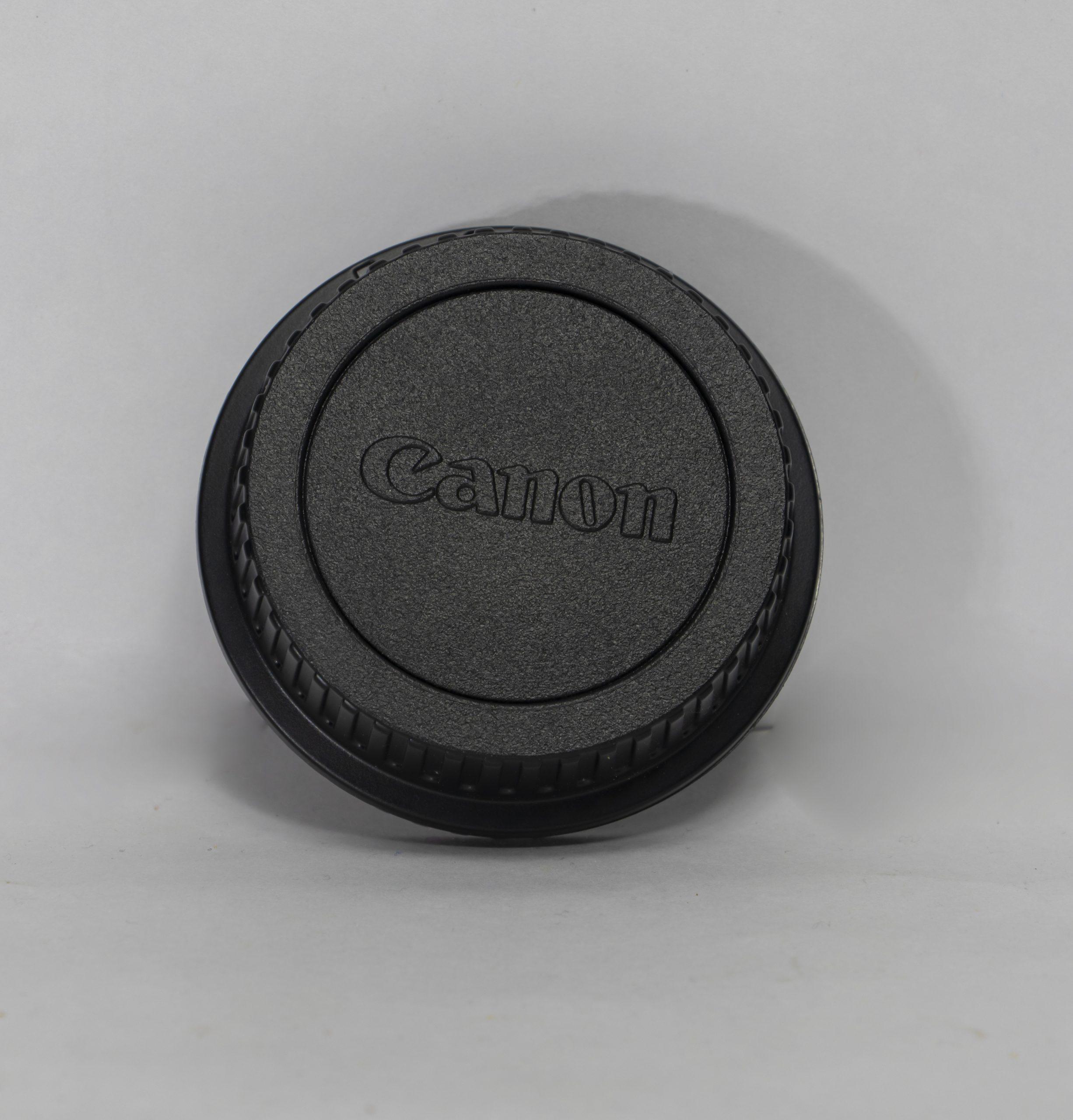 Canon camera lens cap