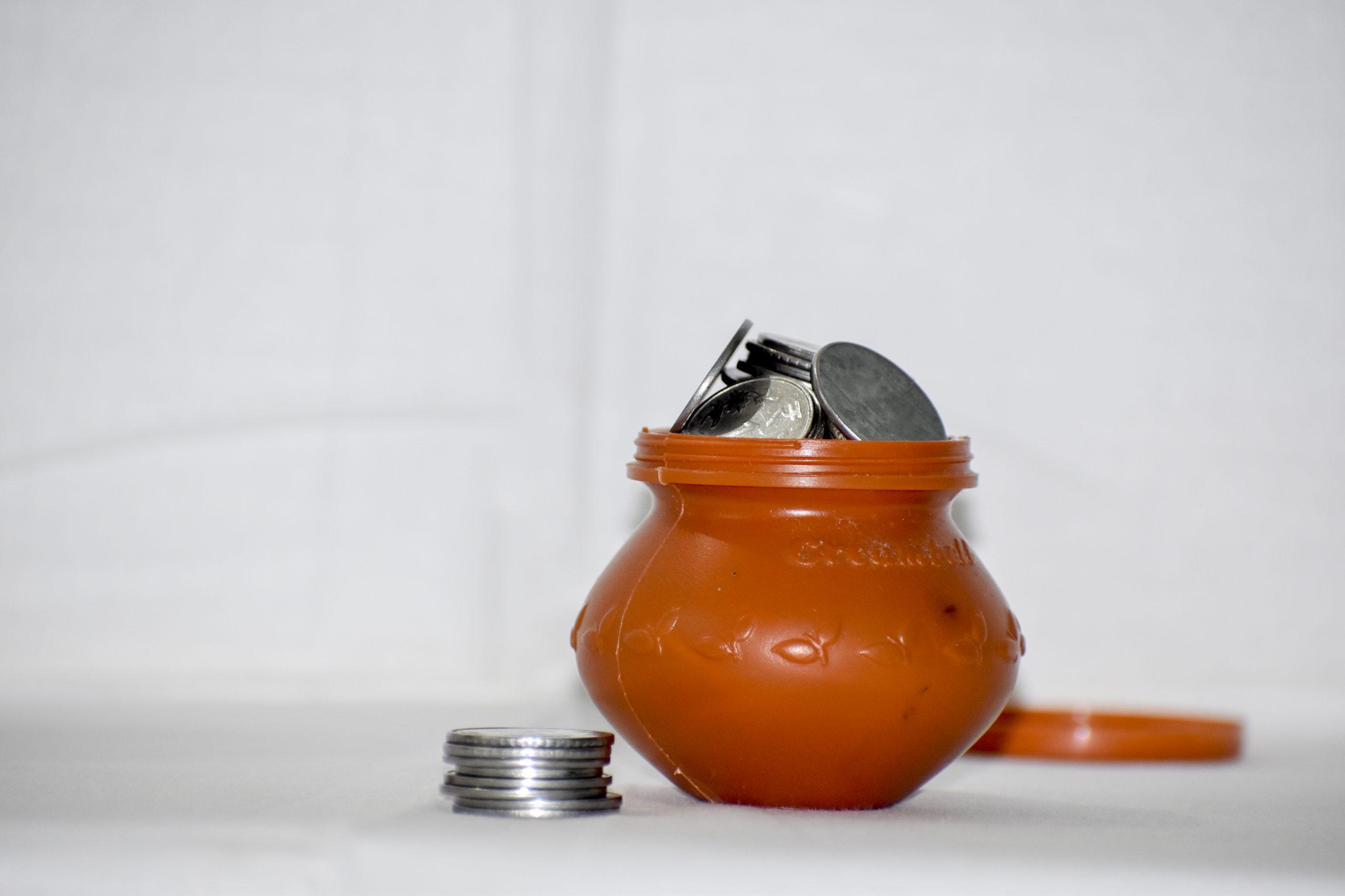 Coins Saving Pot