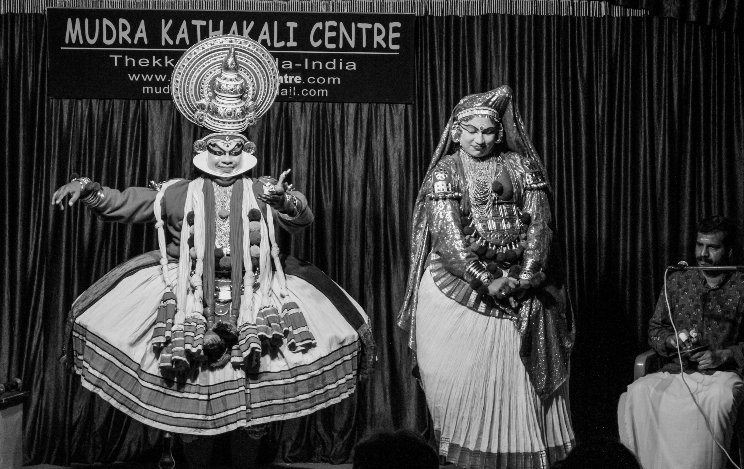 kathakali dancers