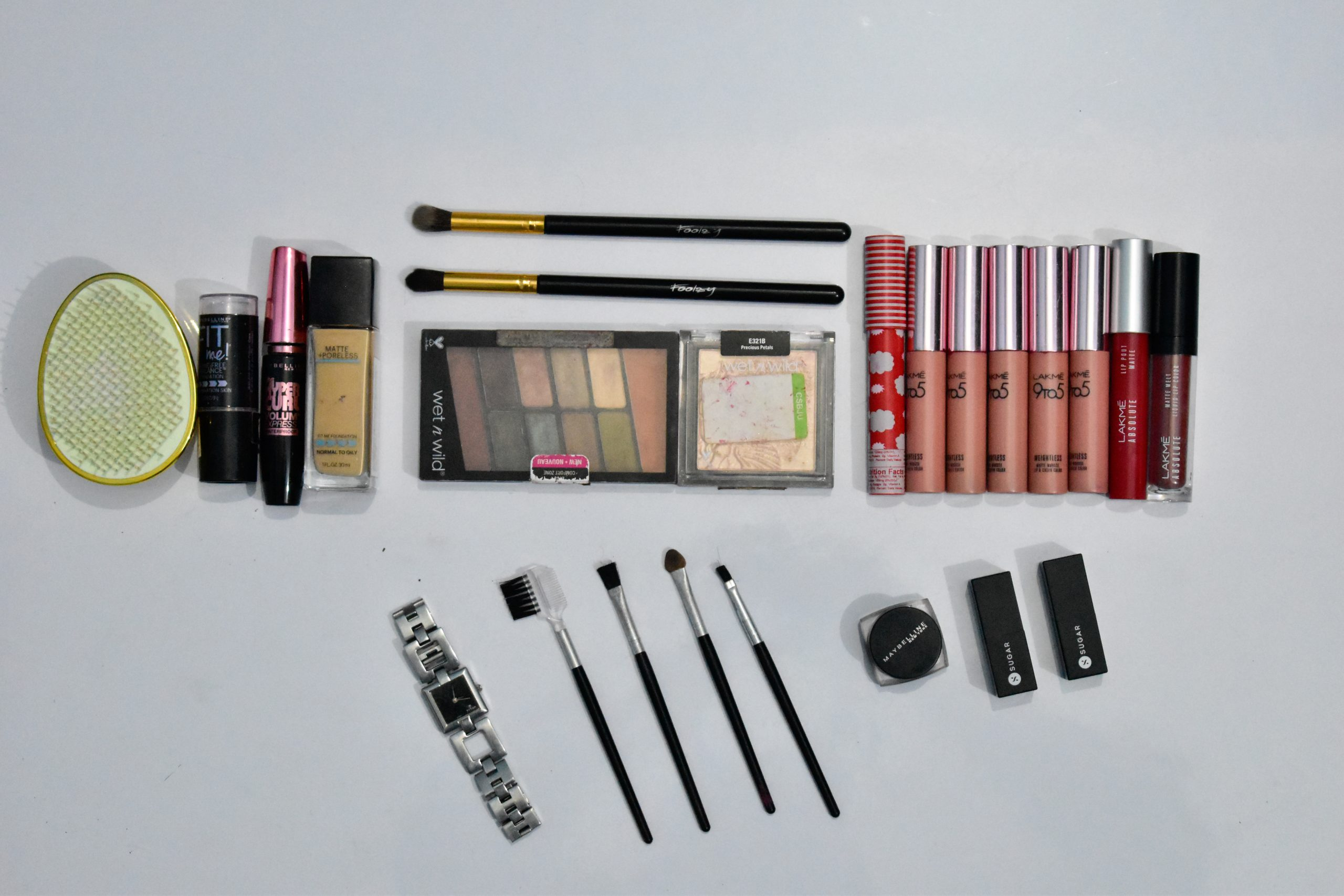 Cosmetic products collection