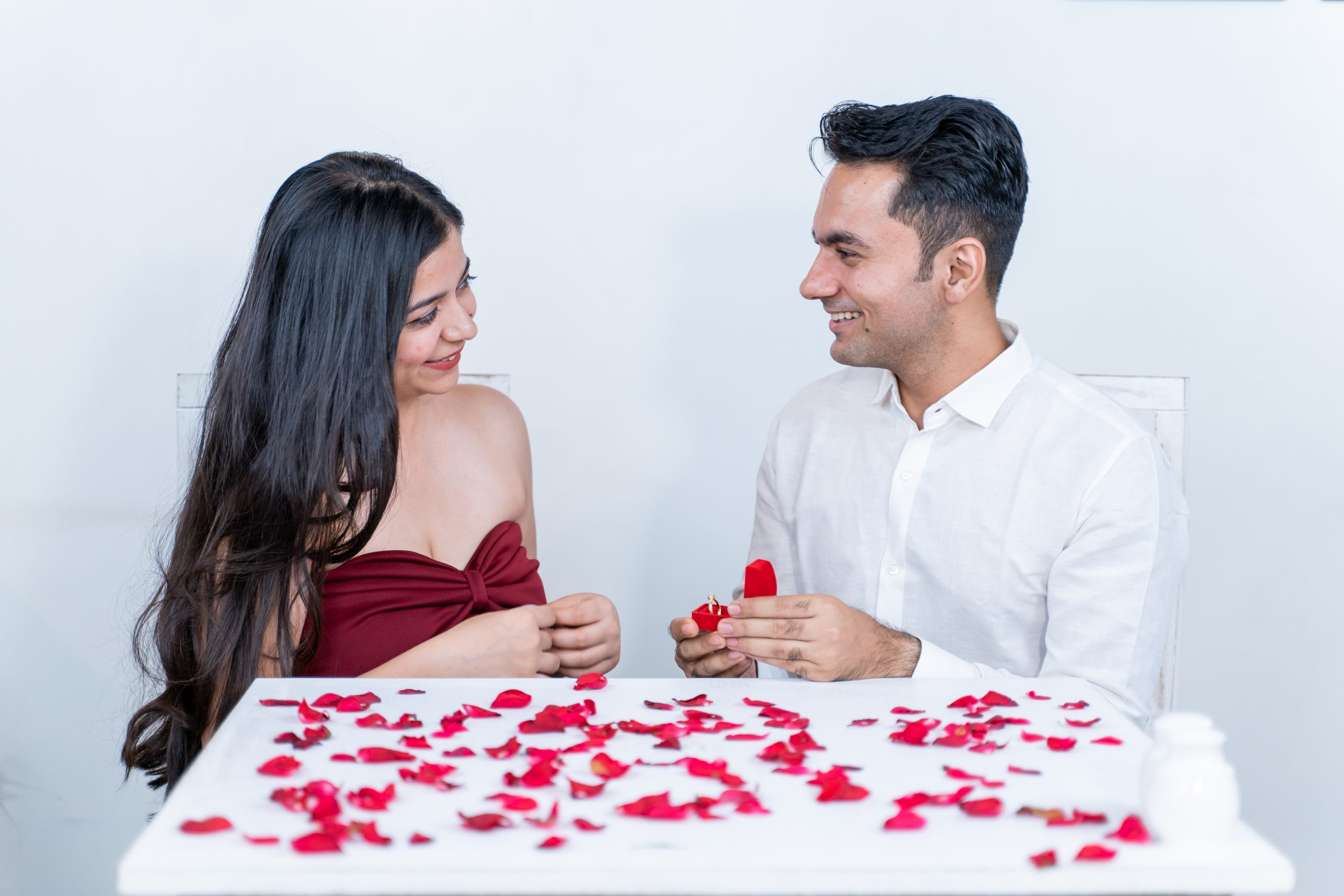 Couple about to get engaged
