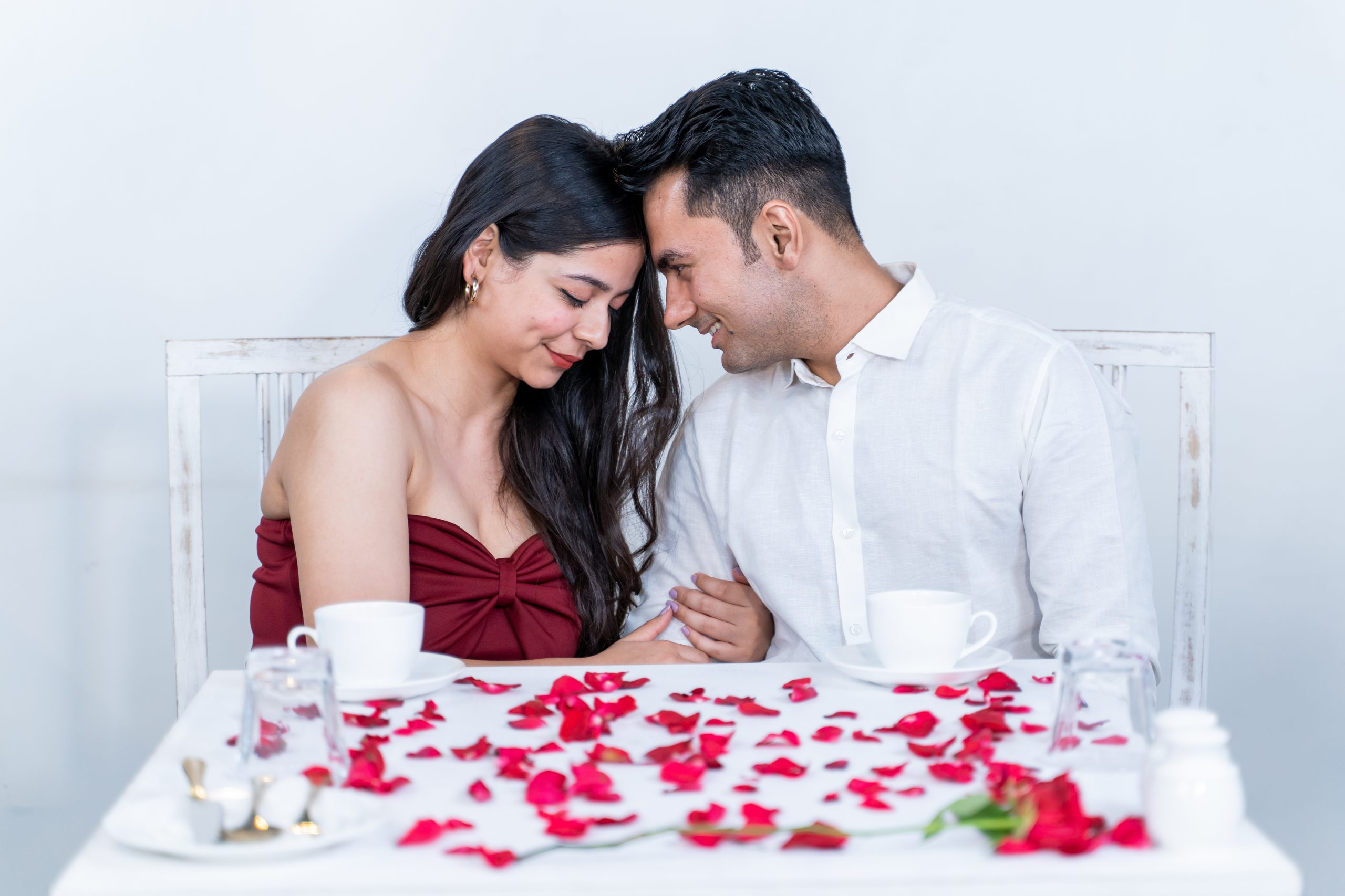 Couple deeply in love