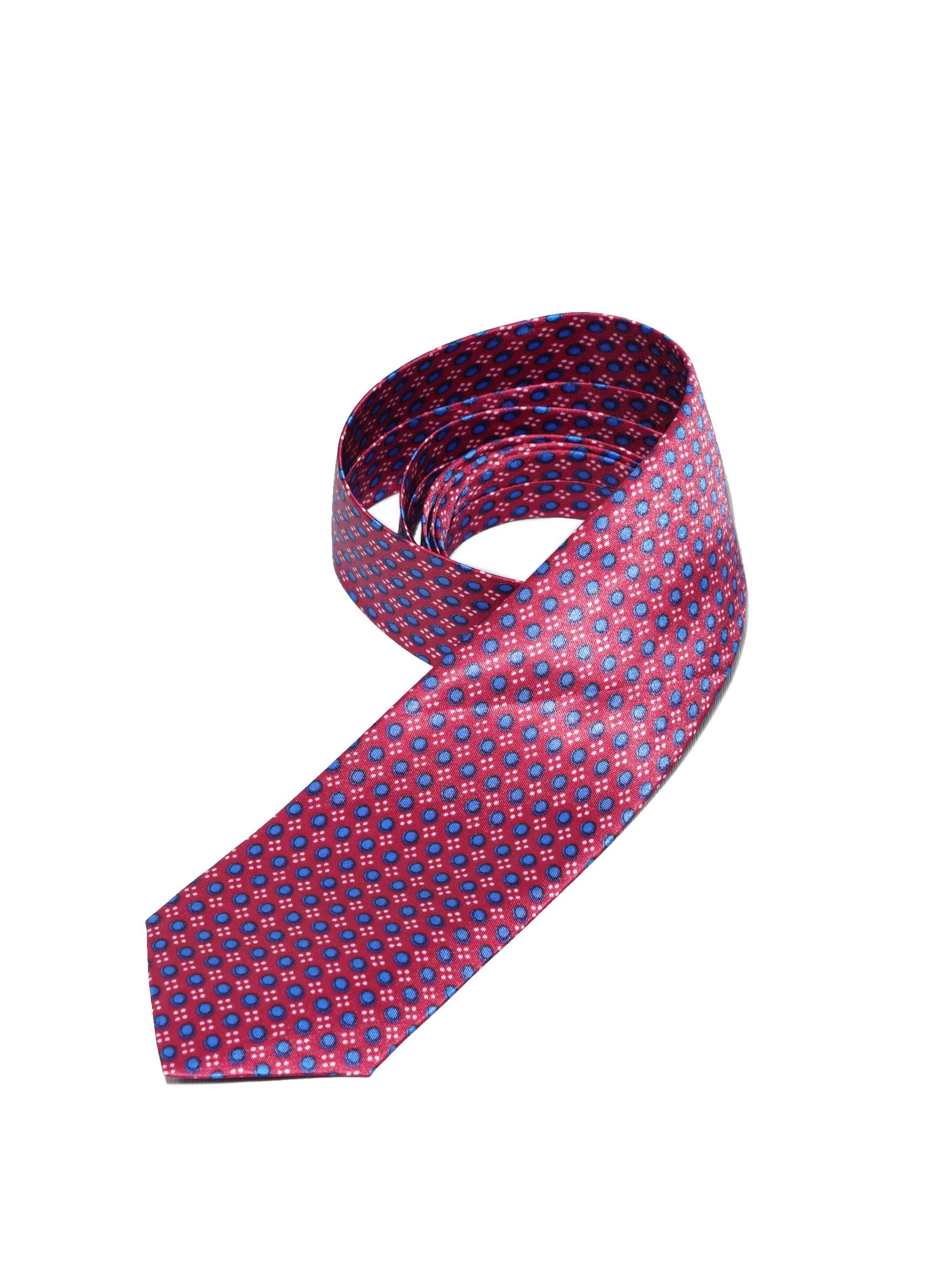 Dark Maroon Polyester Tie