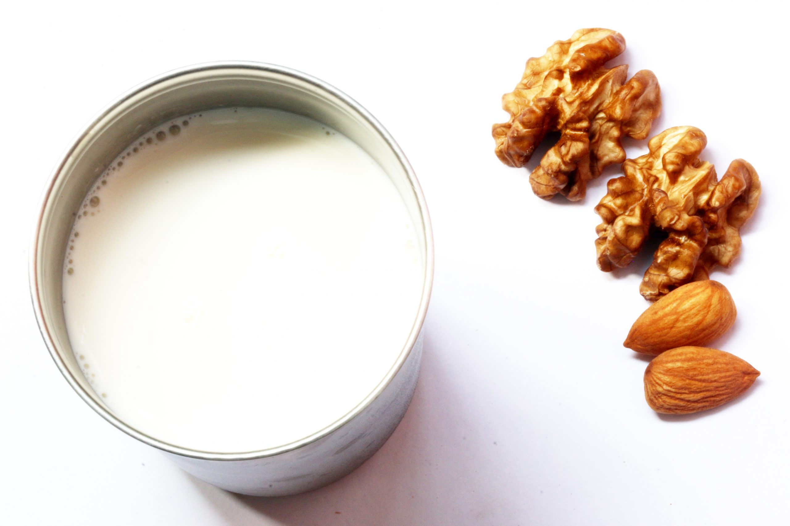 Dry fruits and milk