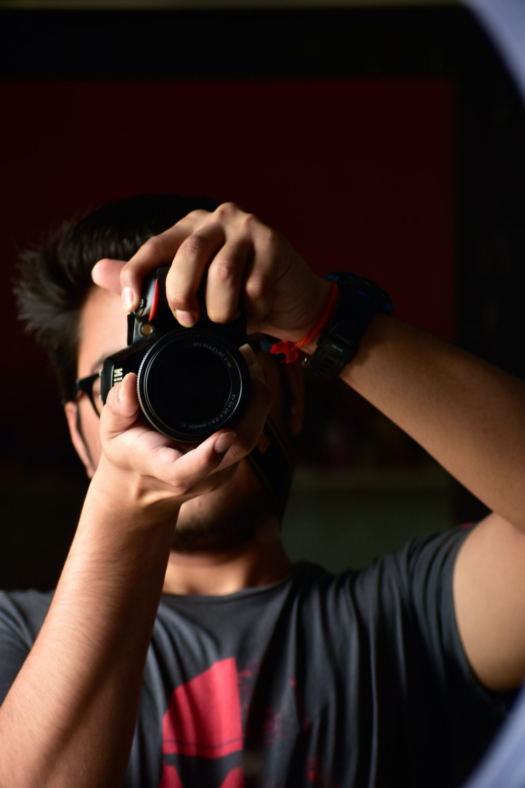 photographer clicking a pic