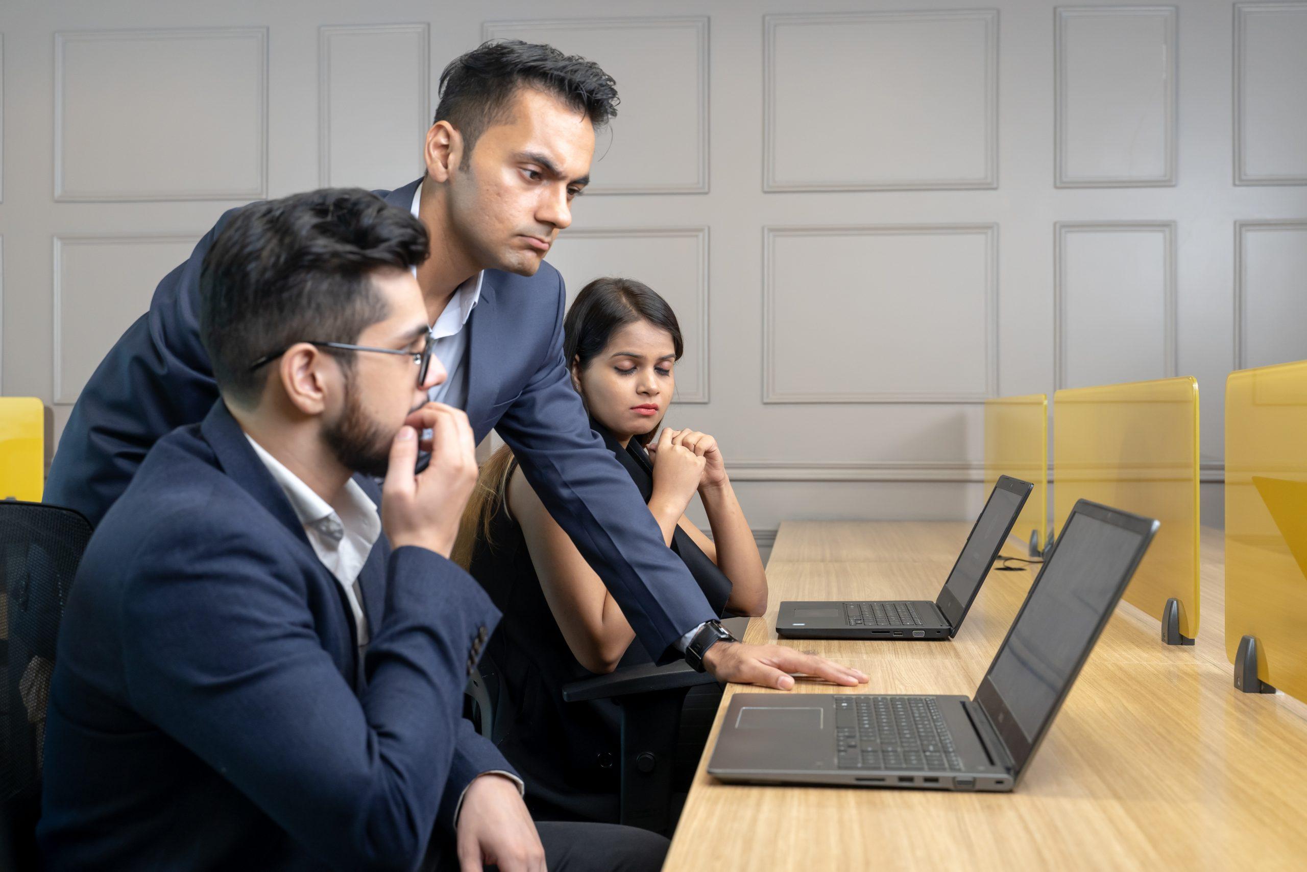 Employee scared of boss