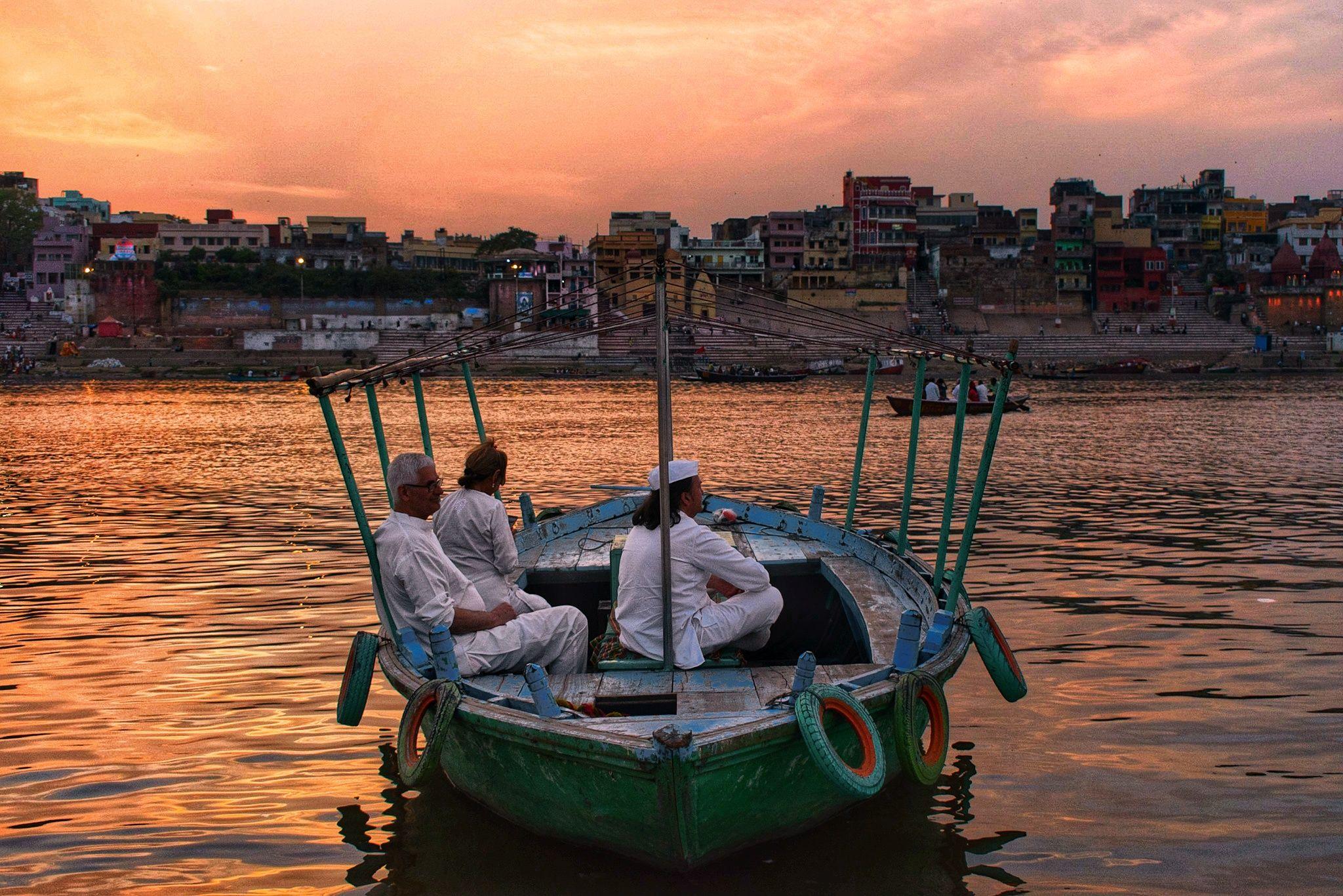 Evening Of Banaras Ghat