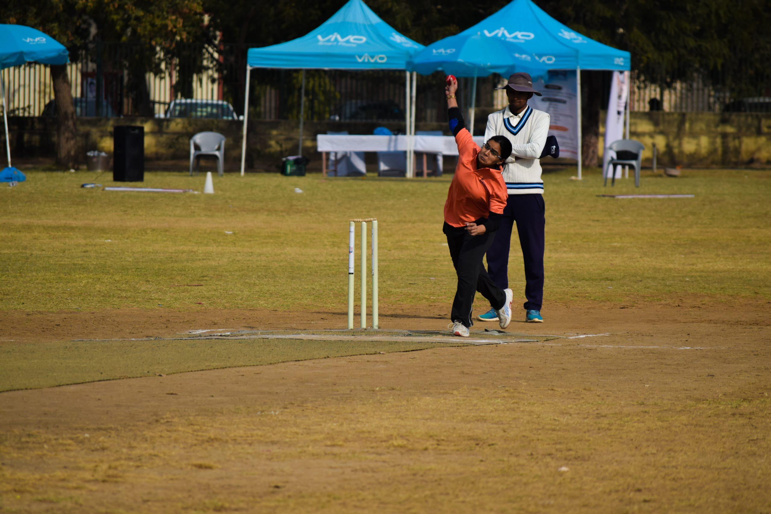 Female bowler