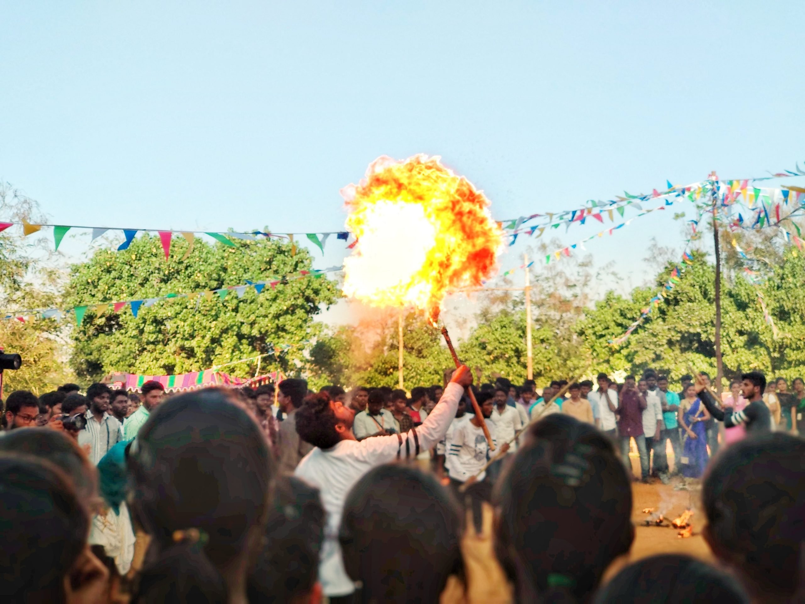 Firework at an traditional event