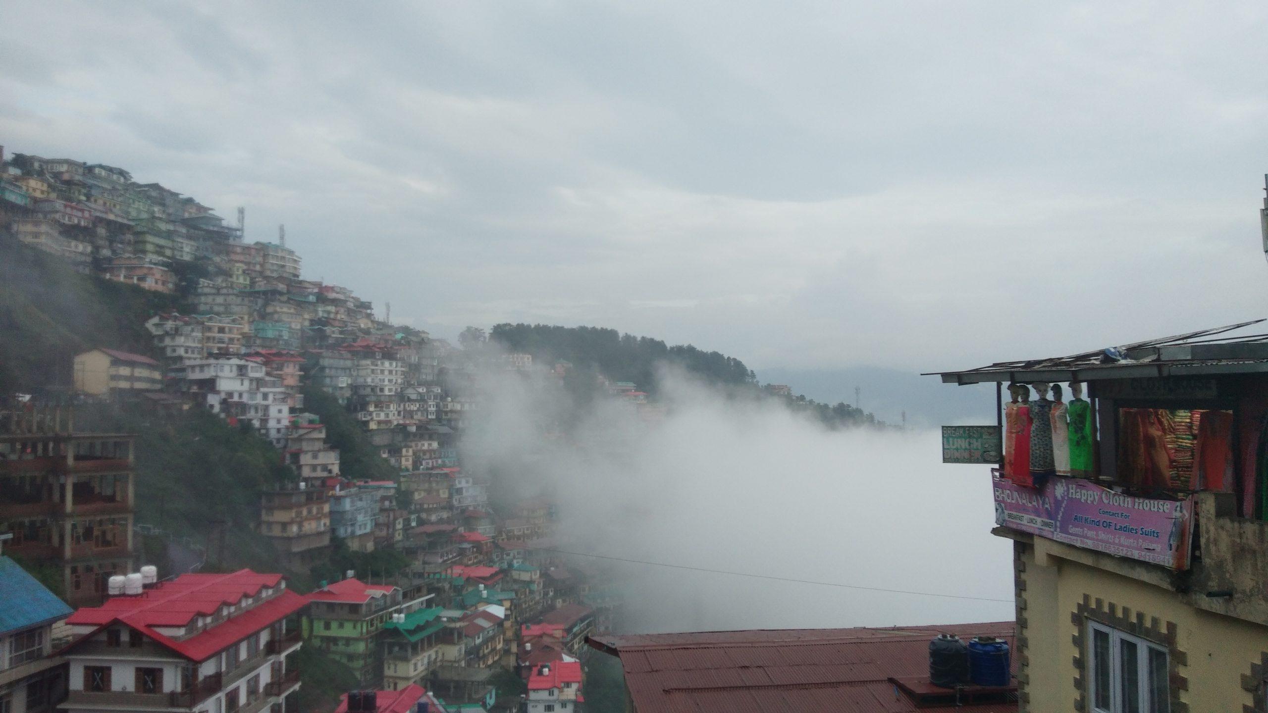 Foggy shimla