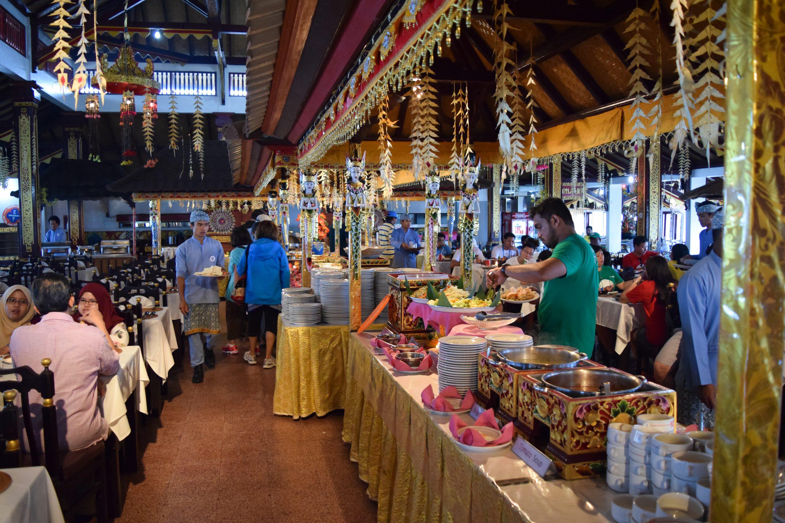 Food Stall at Kintamani Restaurant, Bali