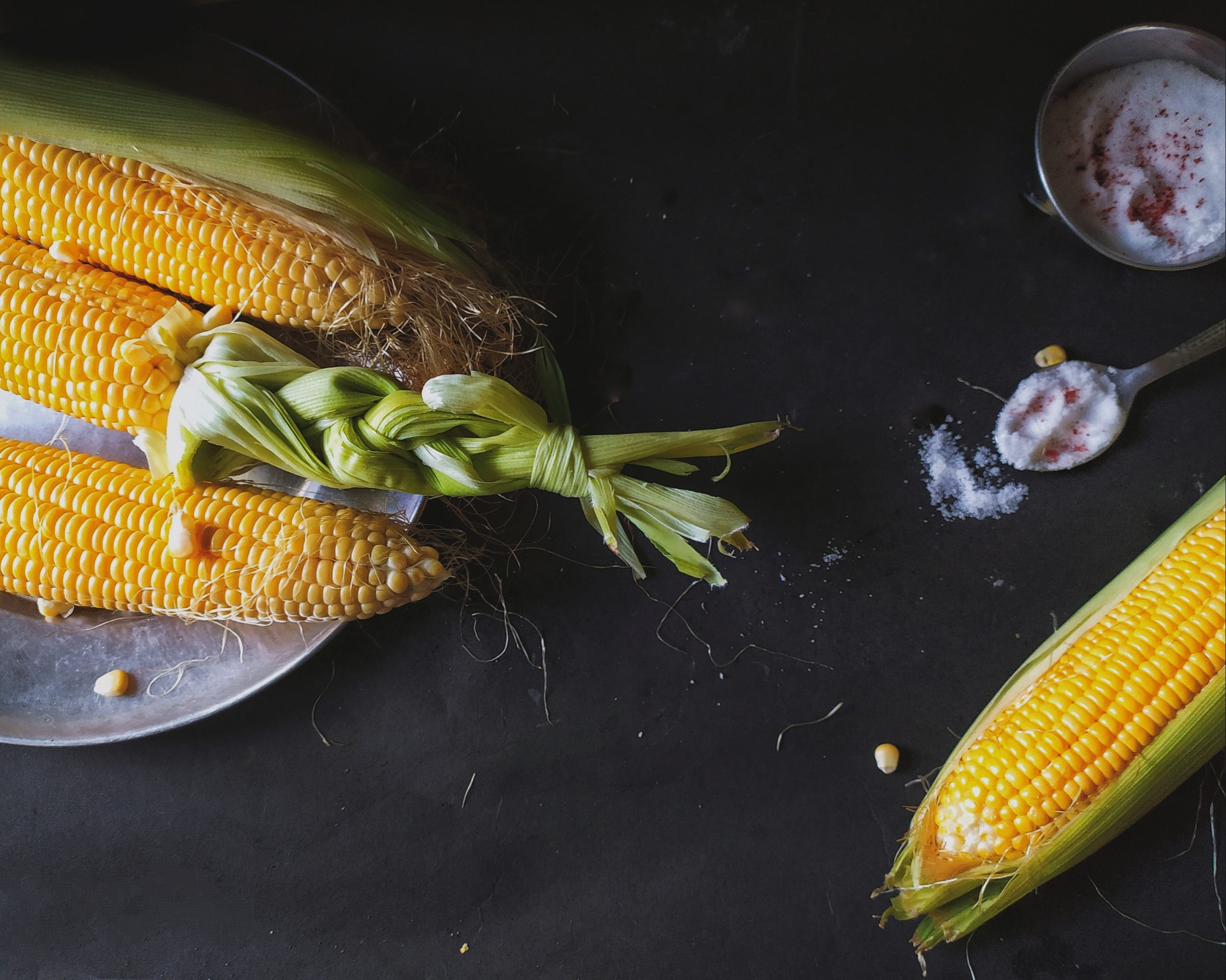 Fresh Corns cobs