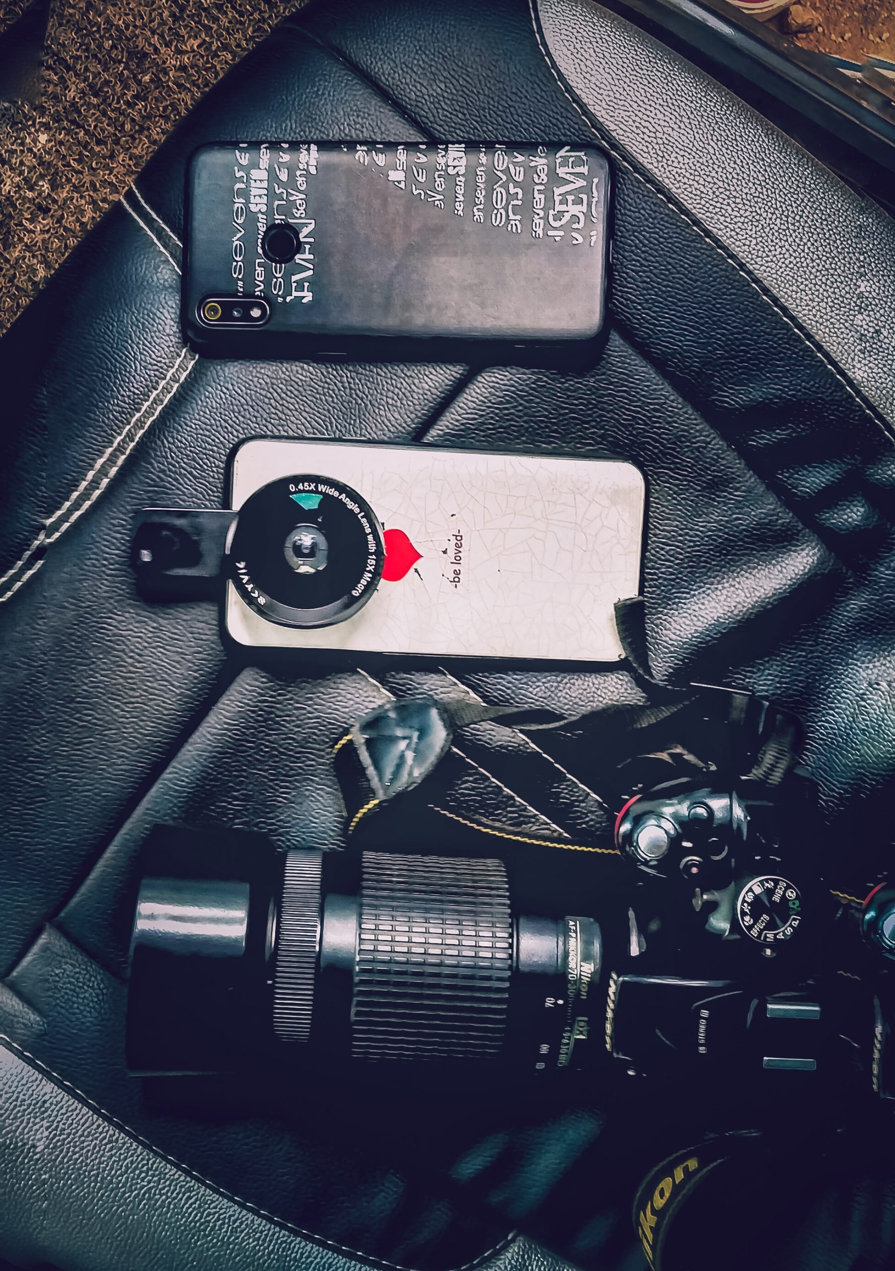 Mobile and camera