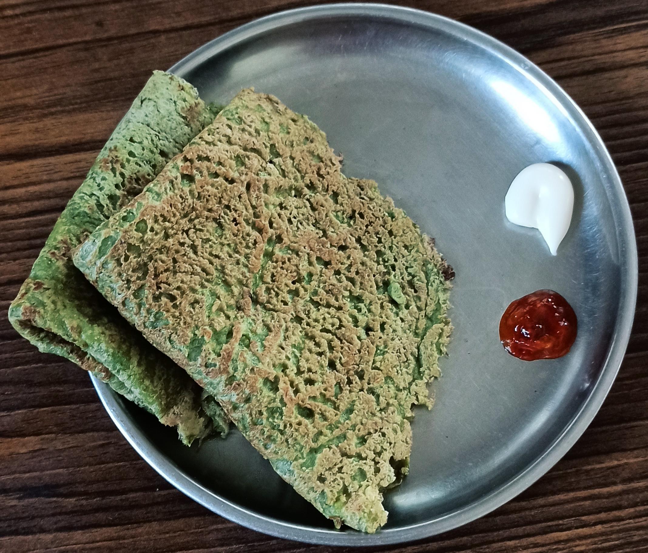 Green gram cheela