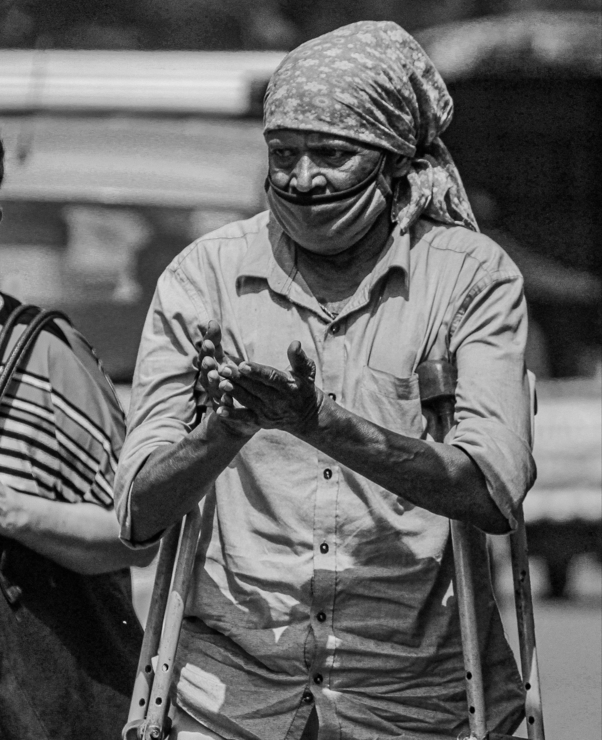 Handicap beggar