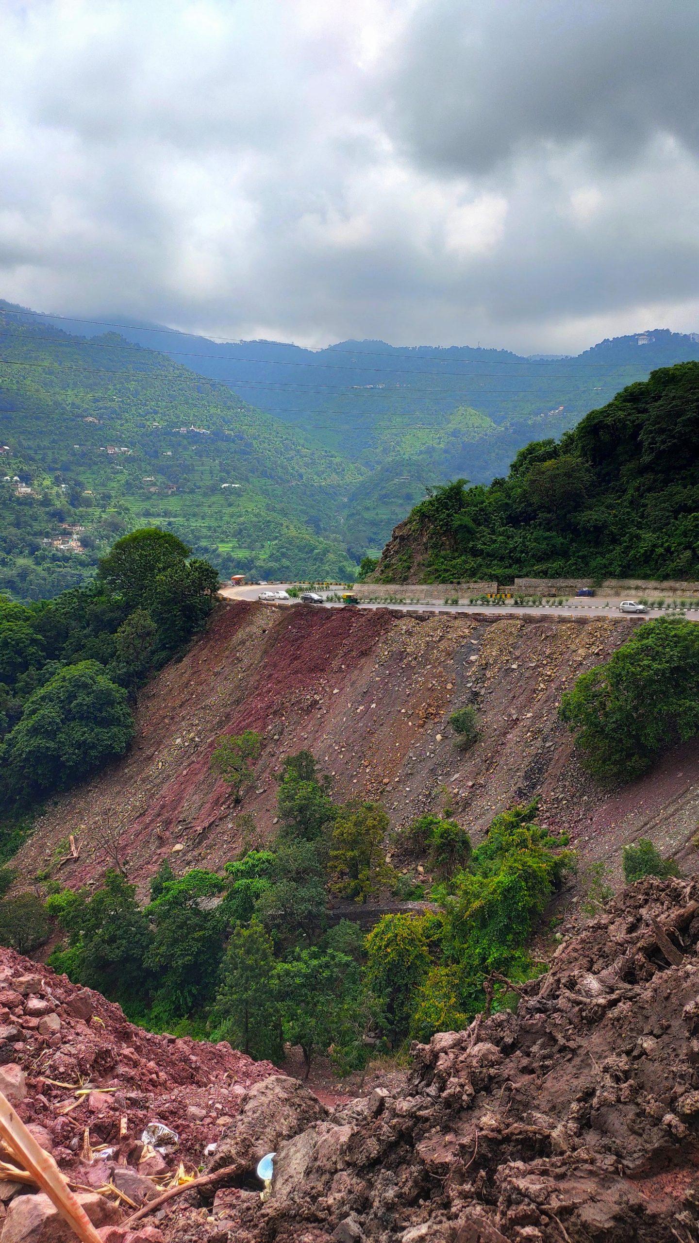 A high altitude road