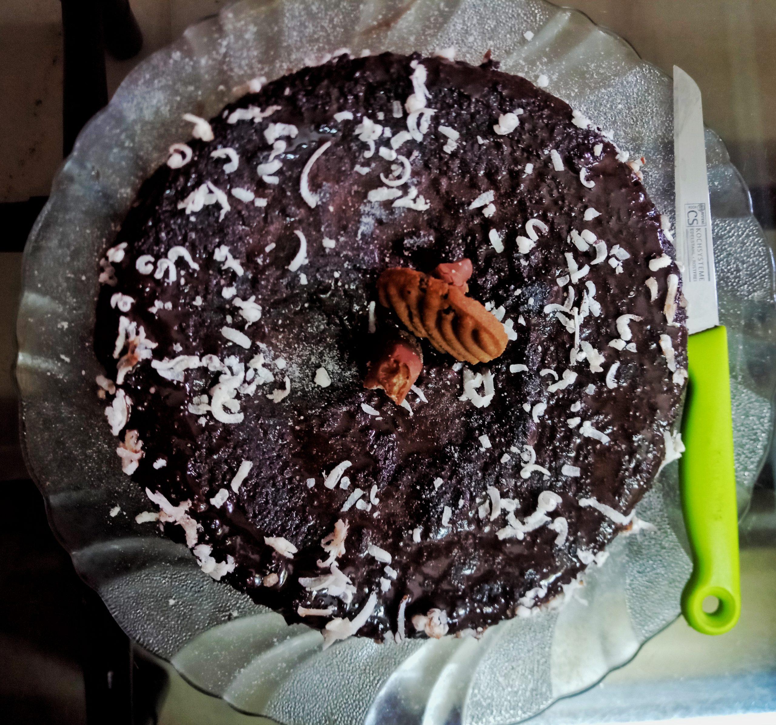 Home-made Chocolate Cake