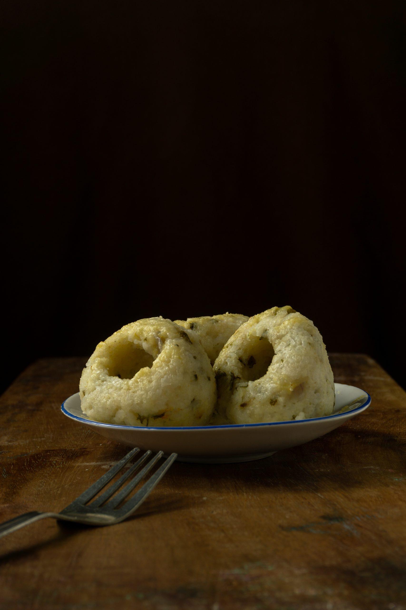 Rice steamed cup dumplings