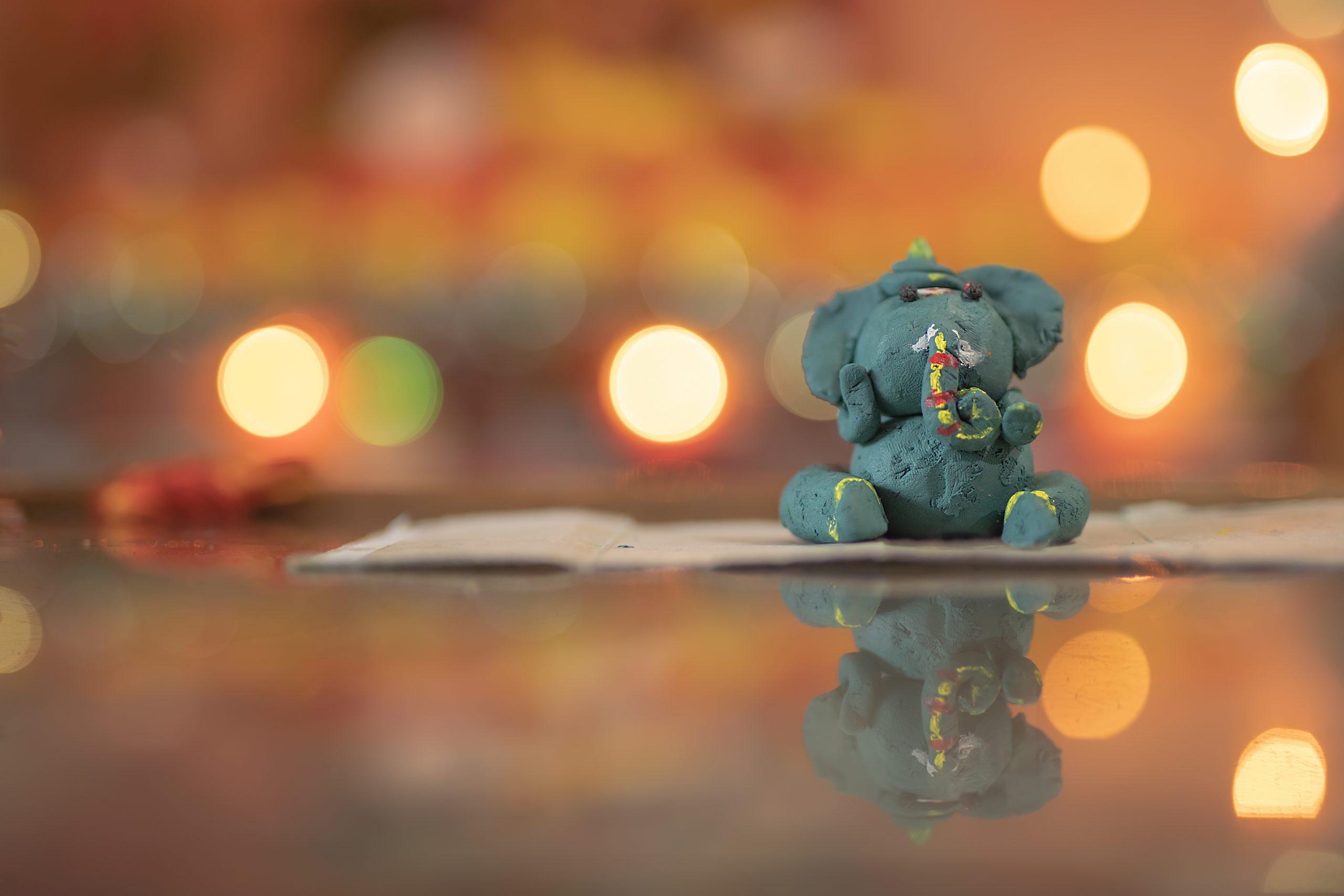 Idol of Little Ganesha