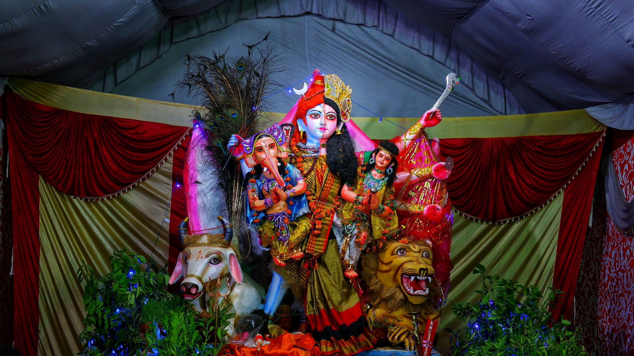 Idols of Hindu God