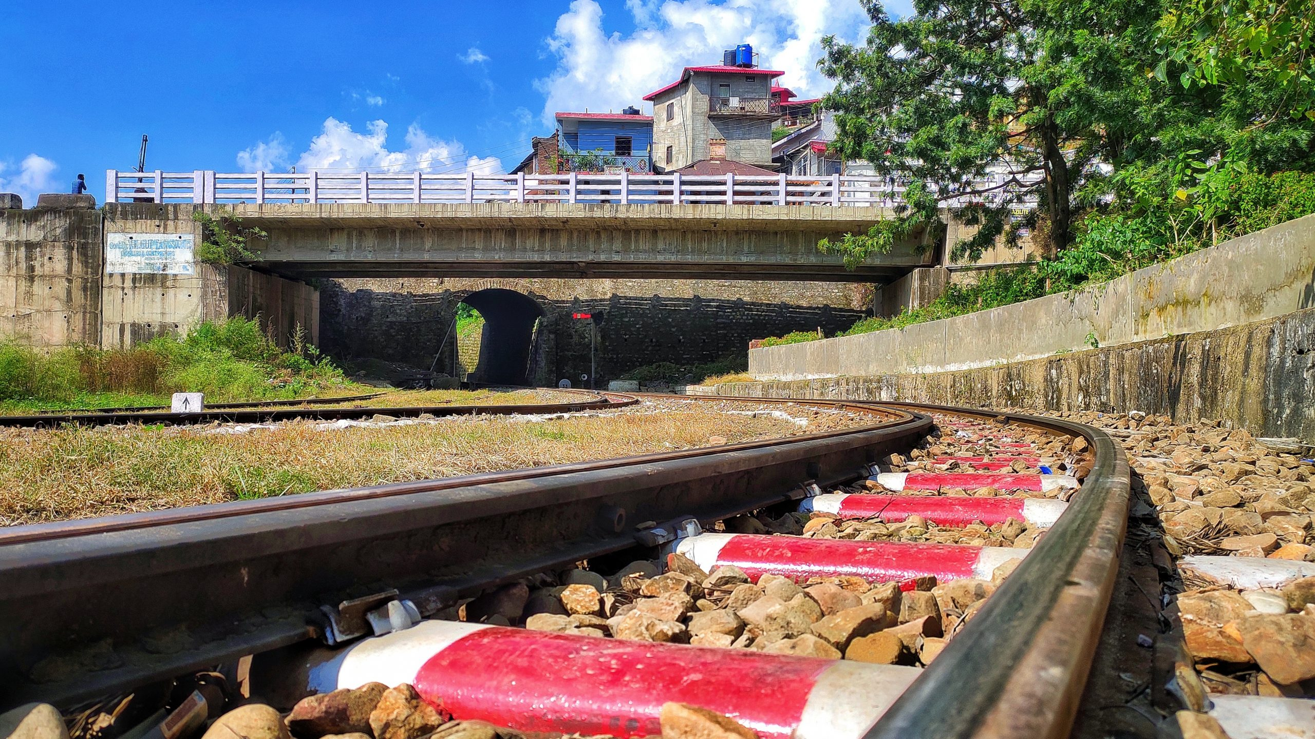 Indian railway track