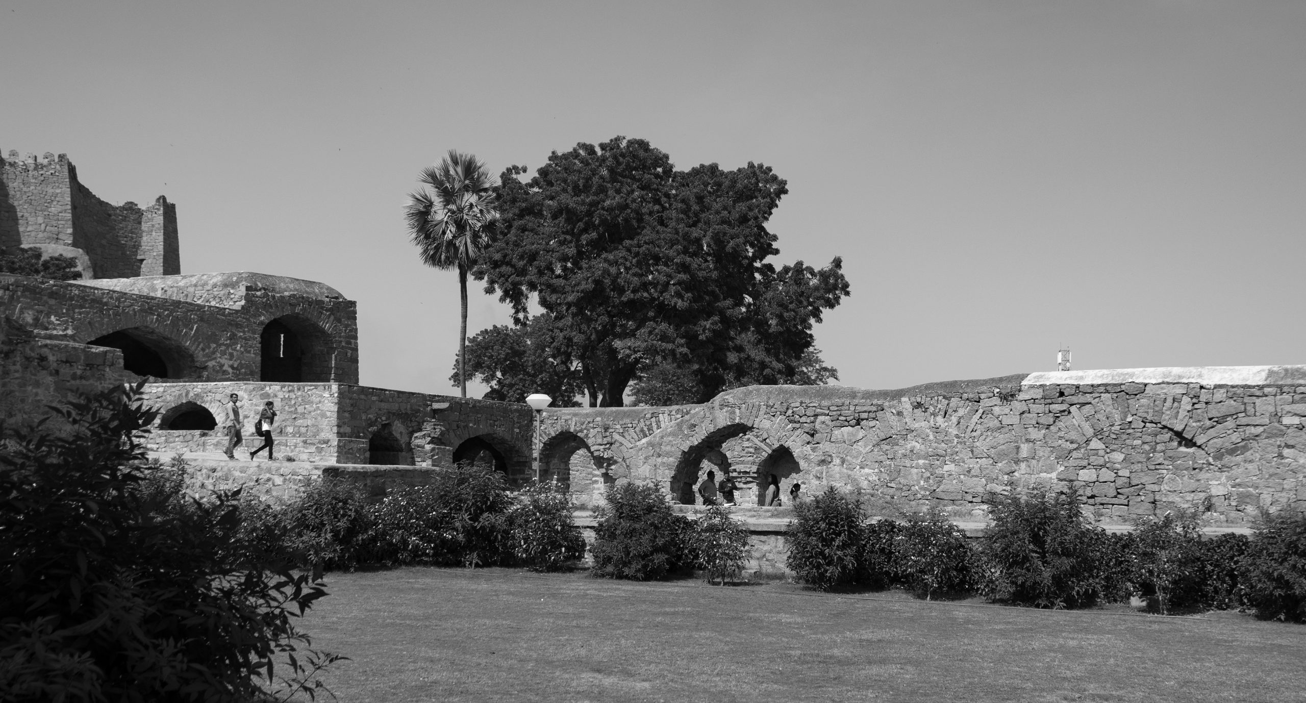 A historic fort