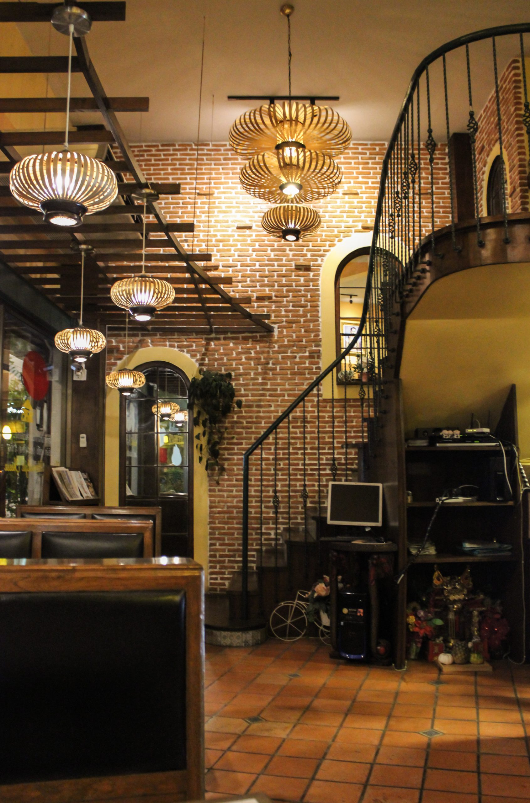Cafe Staircase